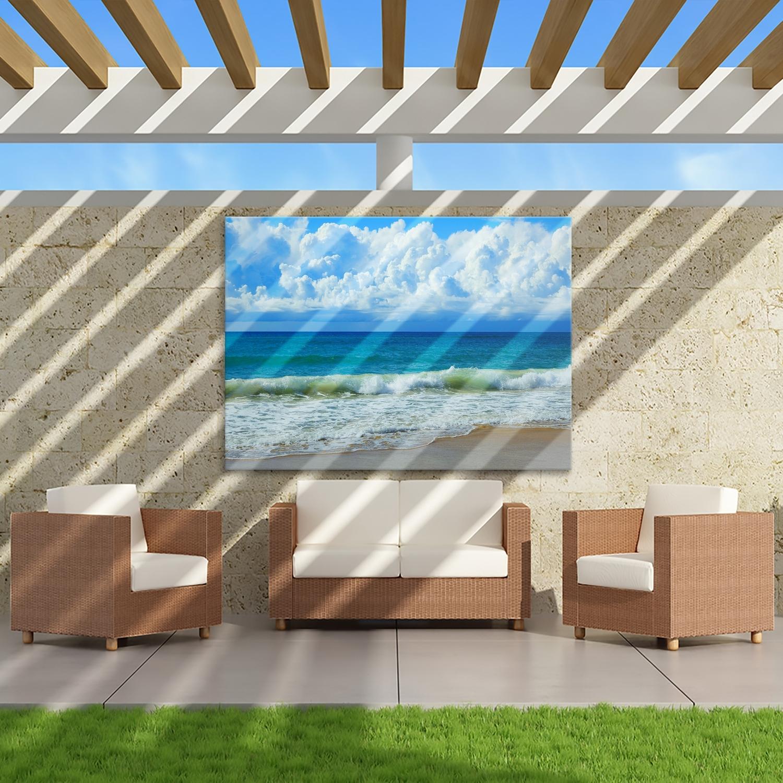 Queensland Beach – Canvas Print – Wall Art – Australia Regarding Current Queensland Canvas Wall Art (Gallery 6 of 15)