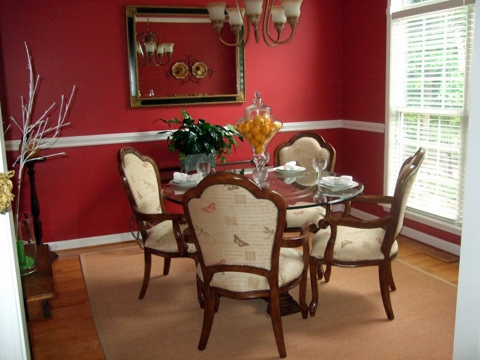 Red Dining Room Wall Decor Intended For Newest Dining Room Wall Accents (View 9 of 15)