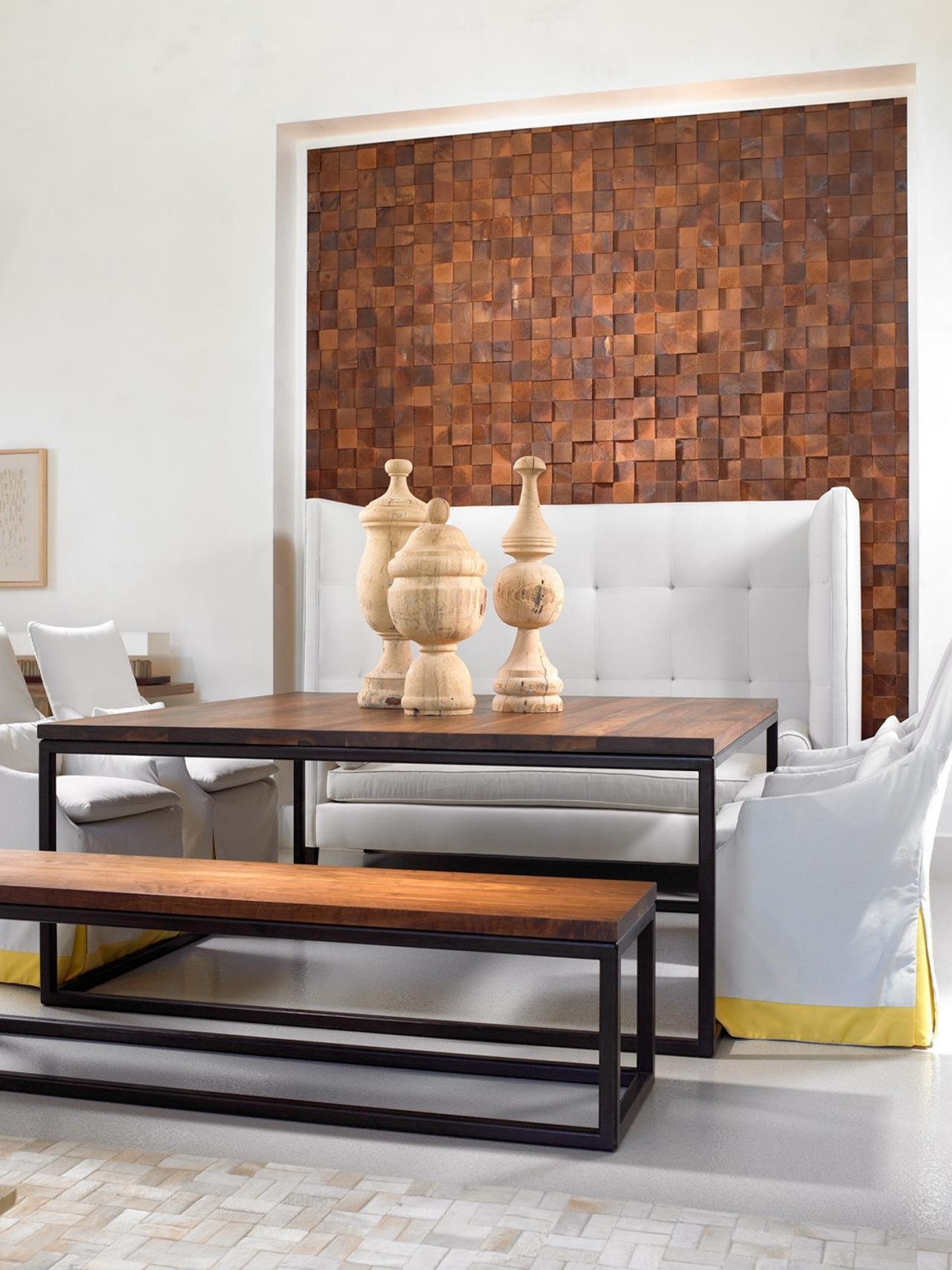 Remarkable Ideas For Wood Accent Wall Features Brown Color Wood In Most Recent Wooden Wall Accents (View 15 of 15)