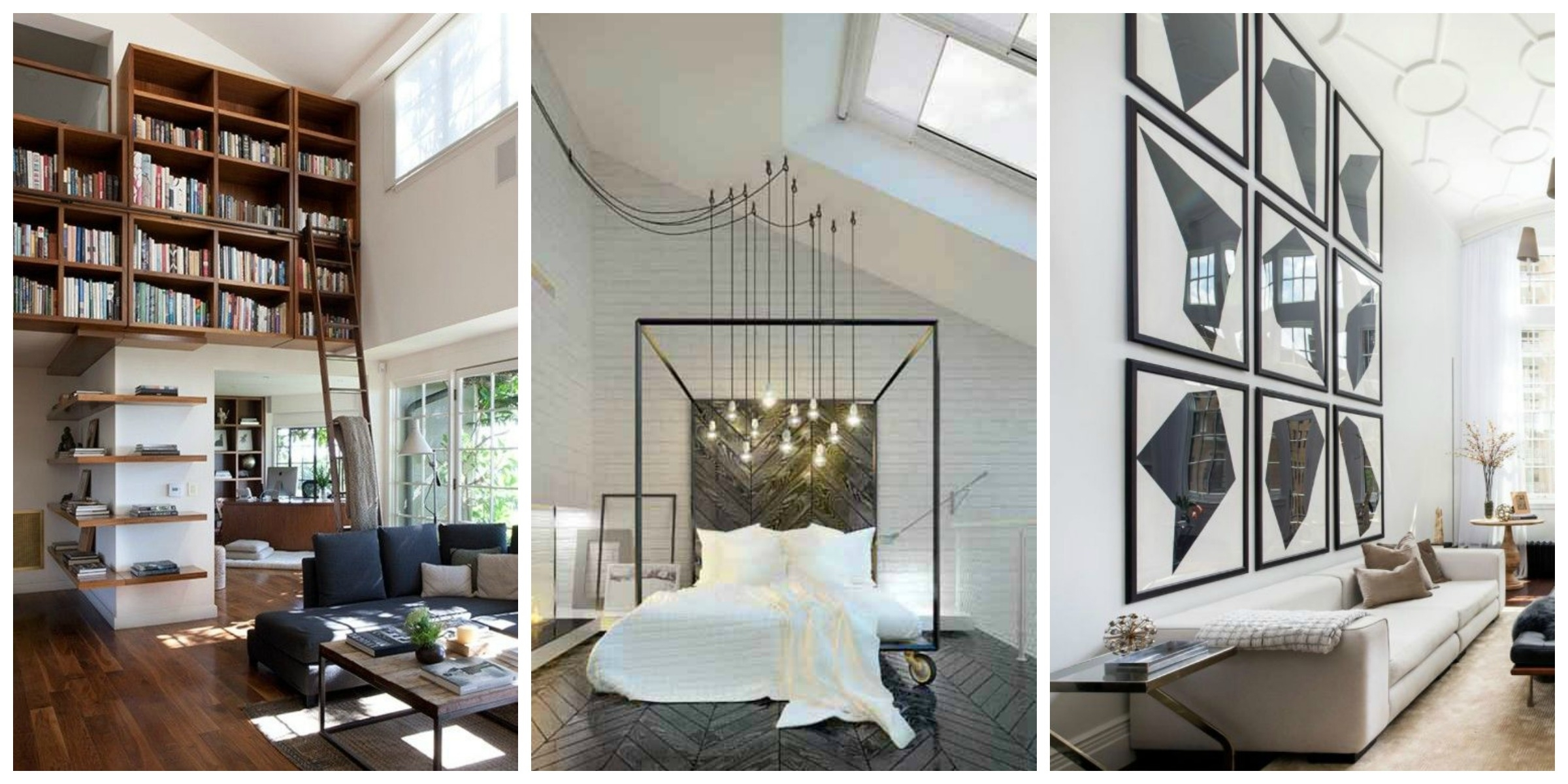 Remodelaholic | 24 Ideas On How To Decorate Tall Walls For 2018 High Ceiling Wall Accents (View 13 of 15)