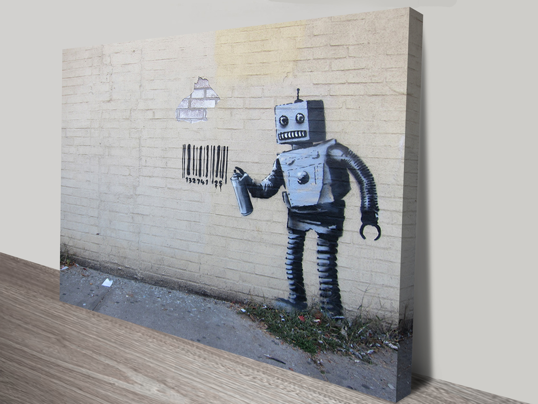 Robot Canvas Print Australia In Recent Robot Canvas Wall Art (Gallery 5 of 15)