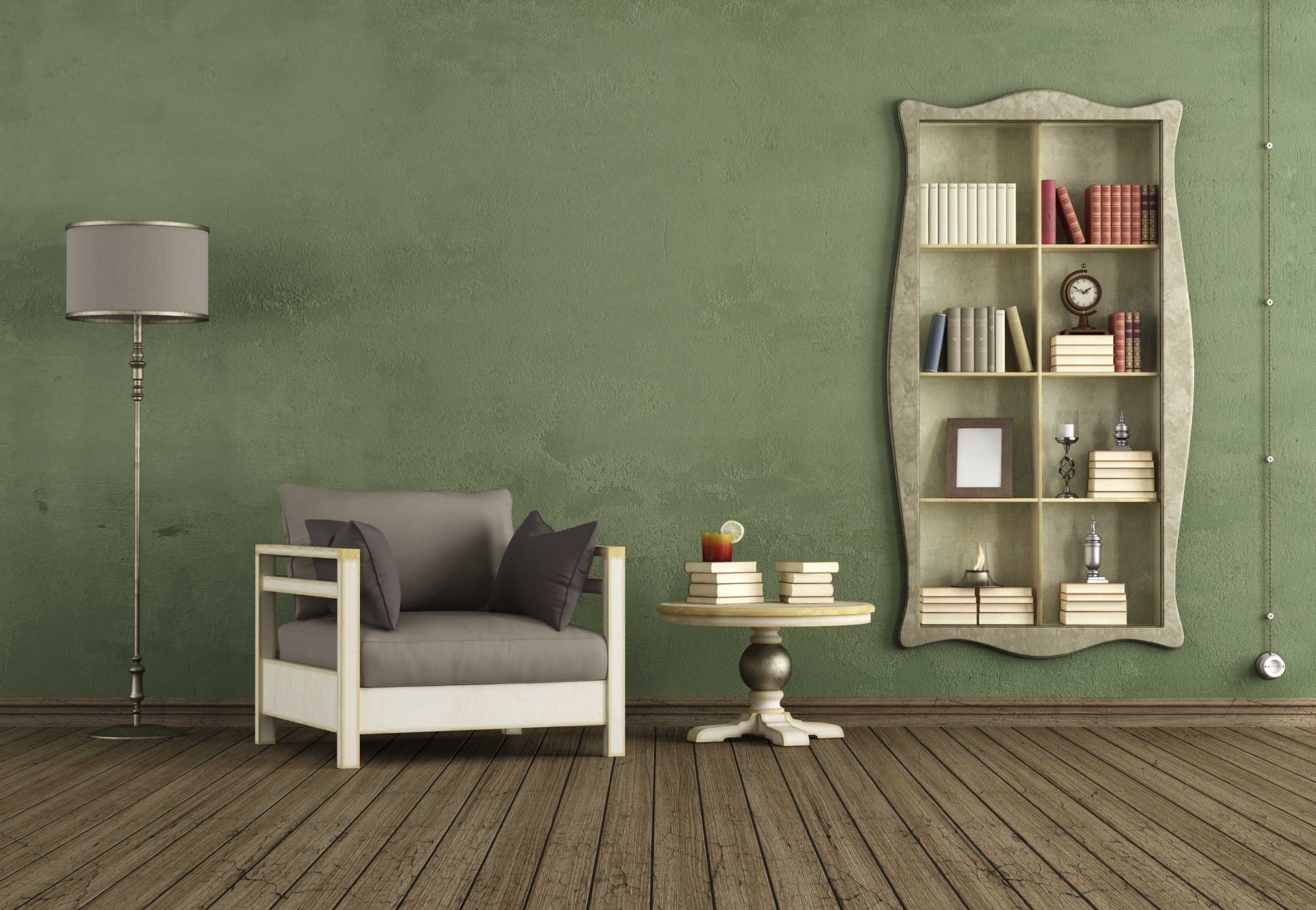 Room Green Accent Wall Design Decor Gallery With Ideas Interior T Intended For Latest Green Wall Accents (View 15 of 15)