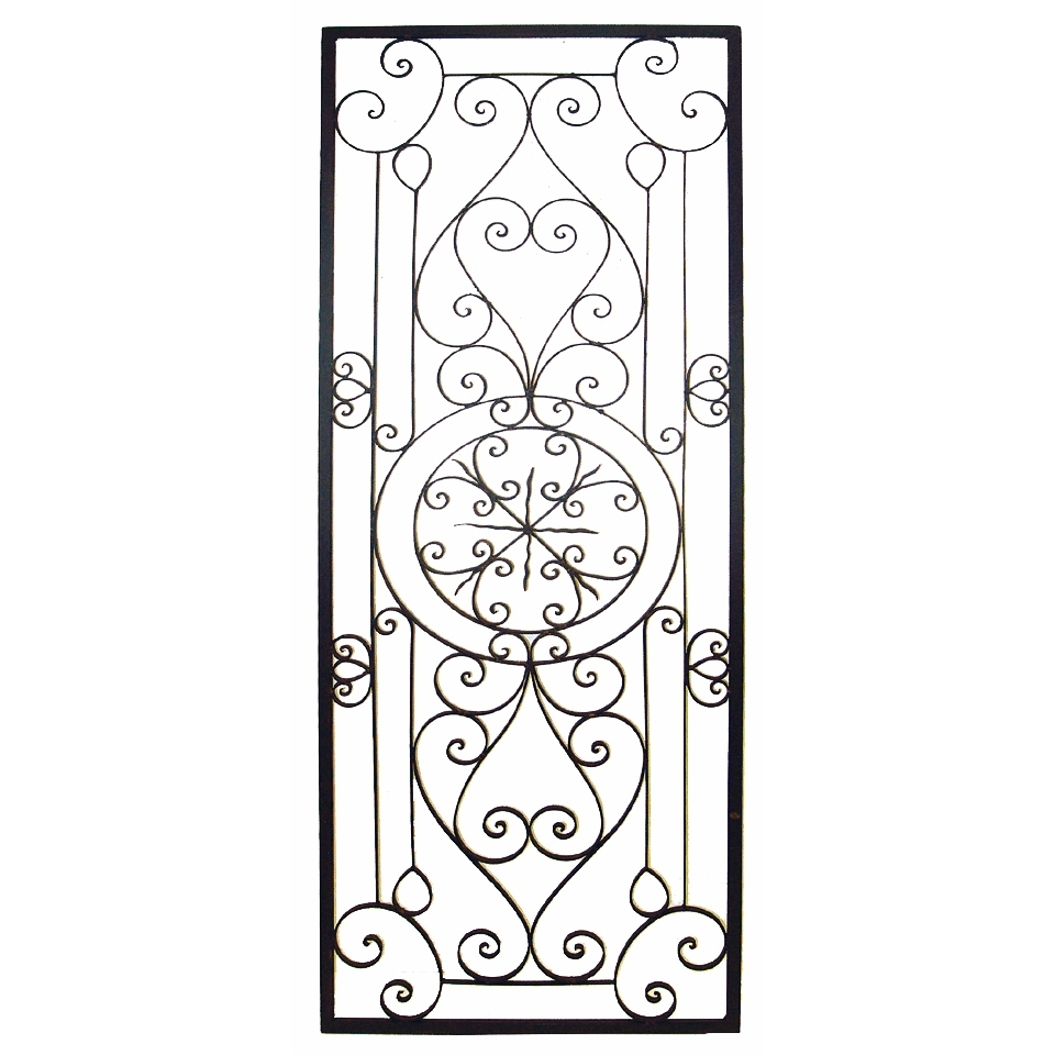 Rustic Iron Scroll Wall Decor | Home Design Ideas : Iron Scroll In Recent Rectangular Wall Accents (View 6 of 15)