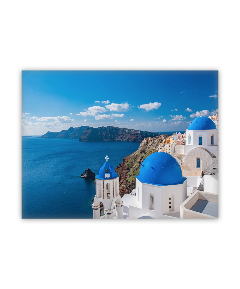 Santorini Greece Canvas Wall Art Regarding Most Recently Released Greece Canvas Wall Art (View 9 of 15)