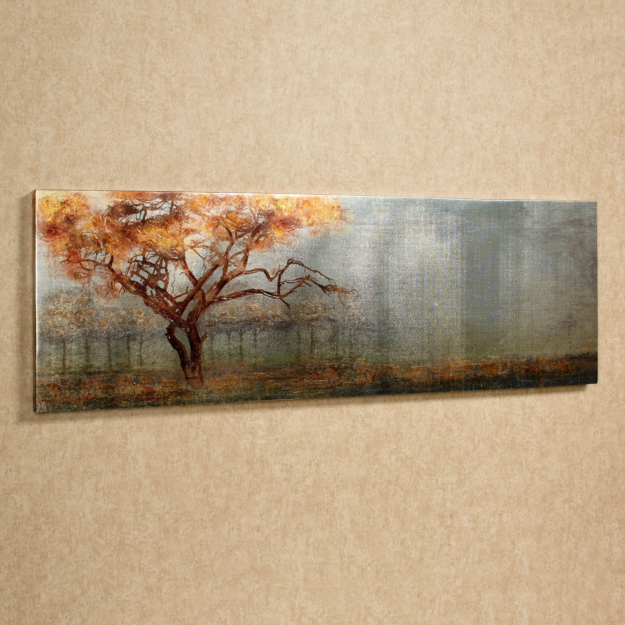 Serengeti Tree Canvas Wall Art Intended For Recent Safari Canvas Wall Art (View 2 of 15)
