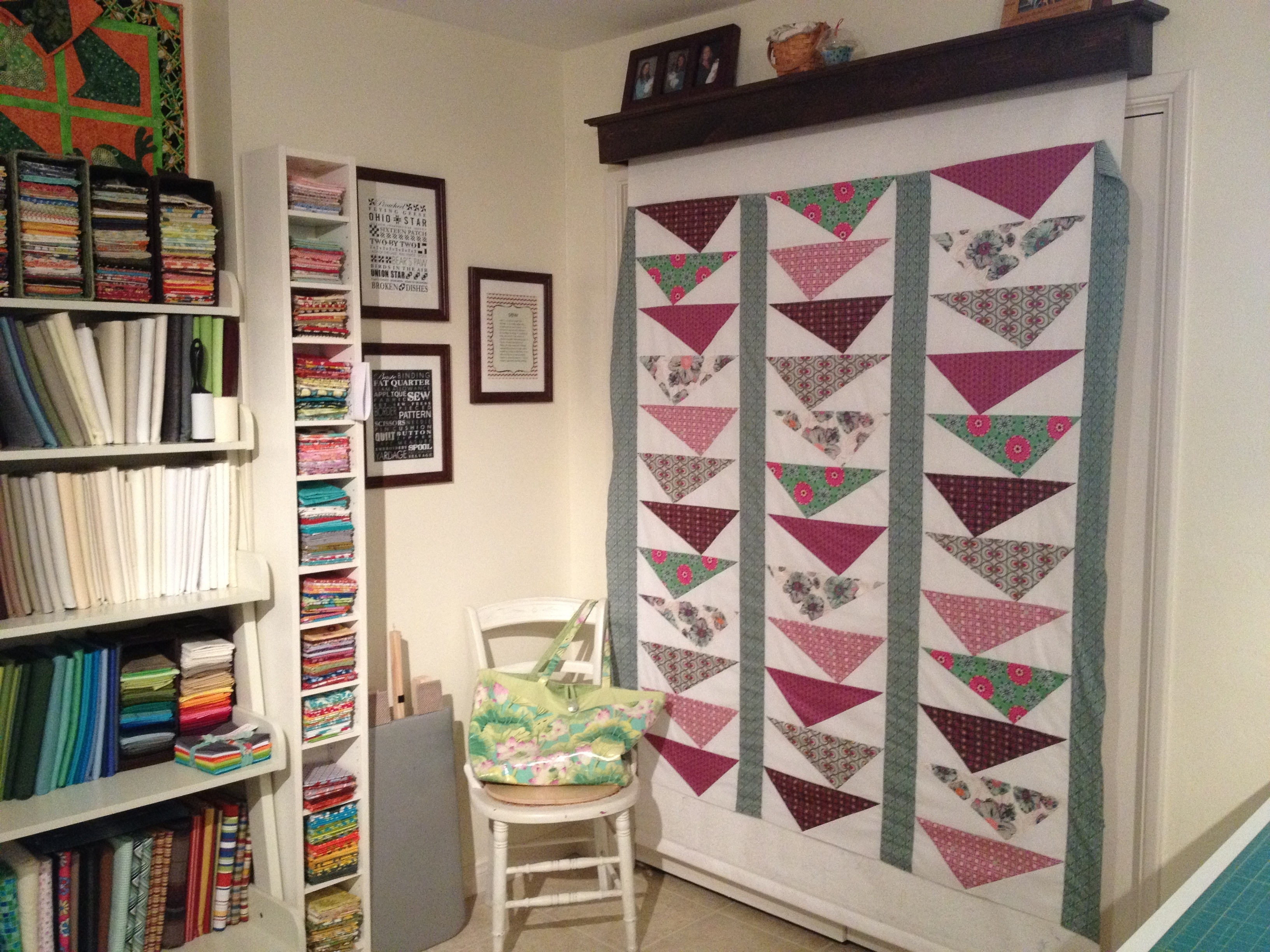 Sewing Room Of The Month – Art Gallery Fabrics – The Creative Blog With Regard To Newest Ikea Fabric Wall Art (View 10 of 15)