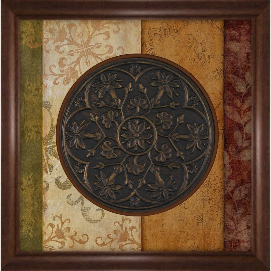 Shop 27 In W X 27 In H Framed Abstract Print At Lowes With Best And Newest Abstract Framed Art Prints (View 14 of 15)
