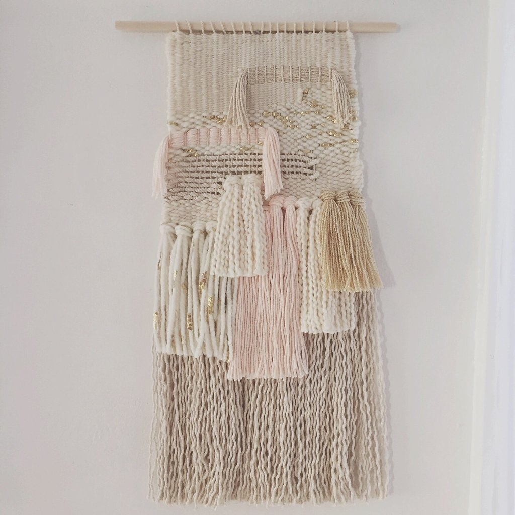 Shop Woven Wall Hangings | Popsugar Home Intended For Latest Woven Fabric Wall Art (View 14 of 15)