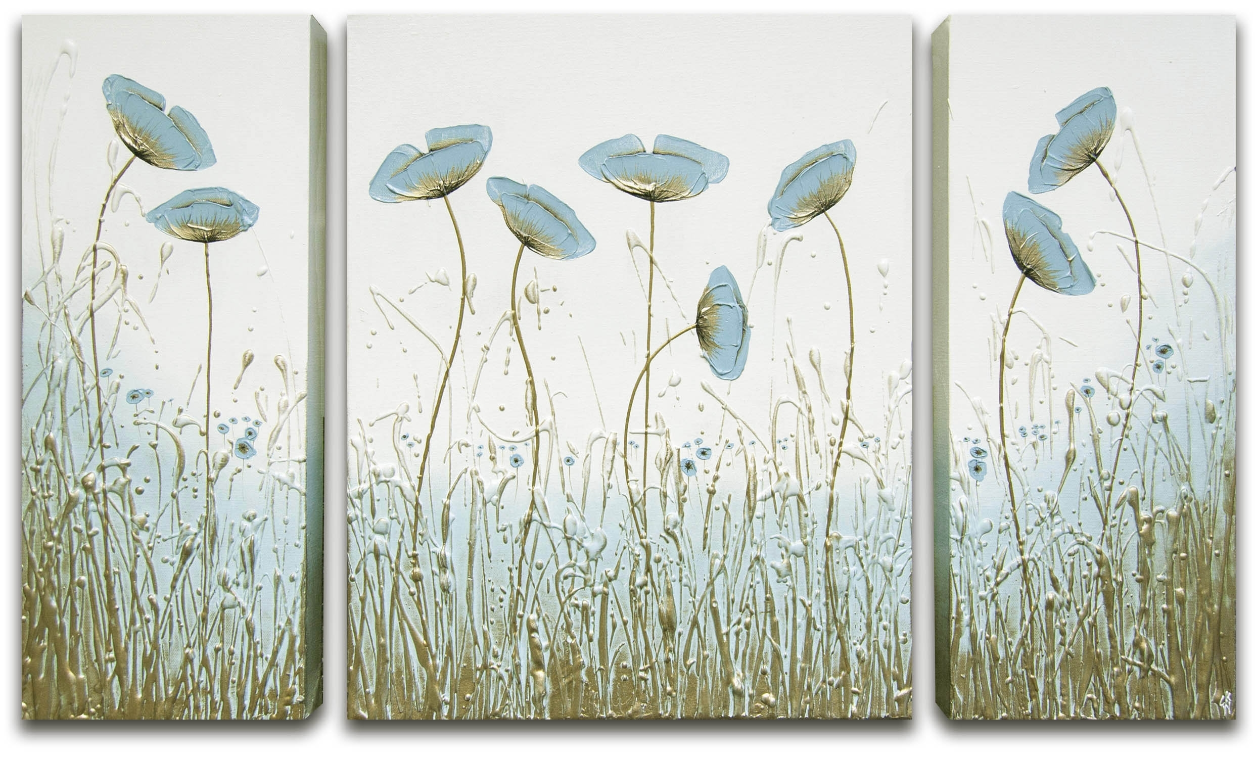 Simply Duck Egg Blueck Wood Throughout Latest Duck Egg Blue Canvas Wall Art (View 11 of 15)