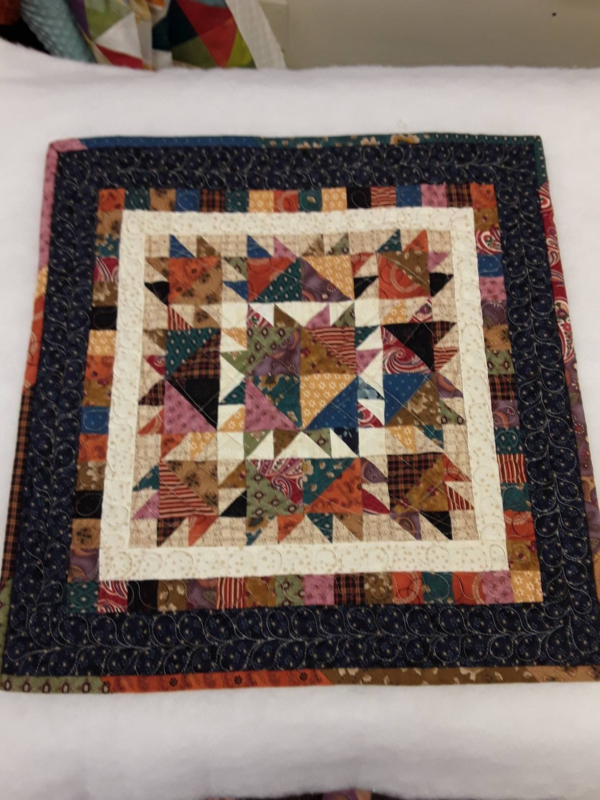 Small Quilt Kit. Kim Diehl Laundry Day Simple Whatnots Club Inside Most Popular Quilt Fabric Wall Art (Gallery 12 of 15)