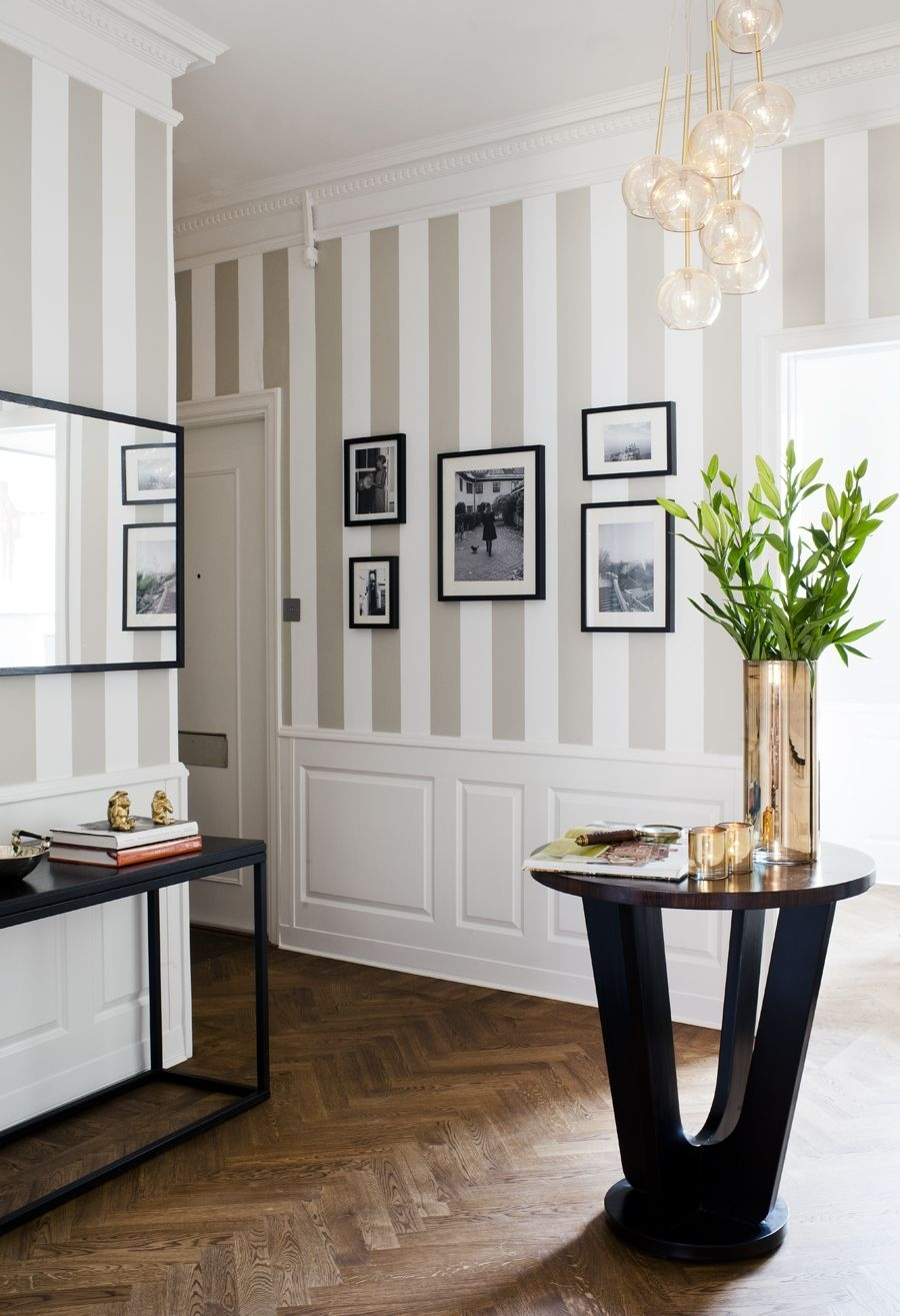 Featured Photo of Vertical Stripes Wall Accents