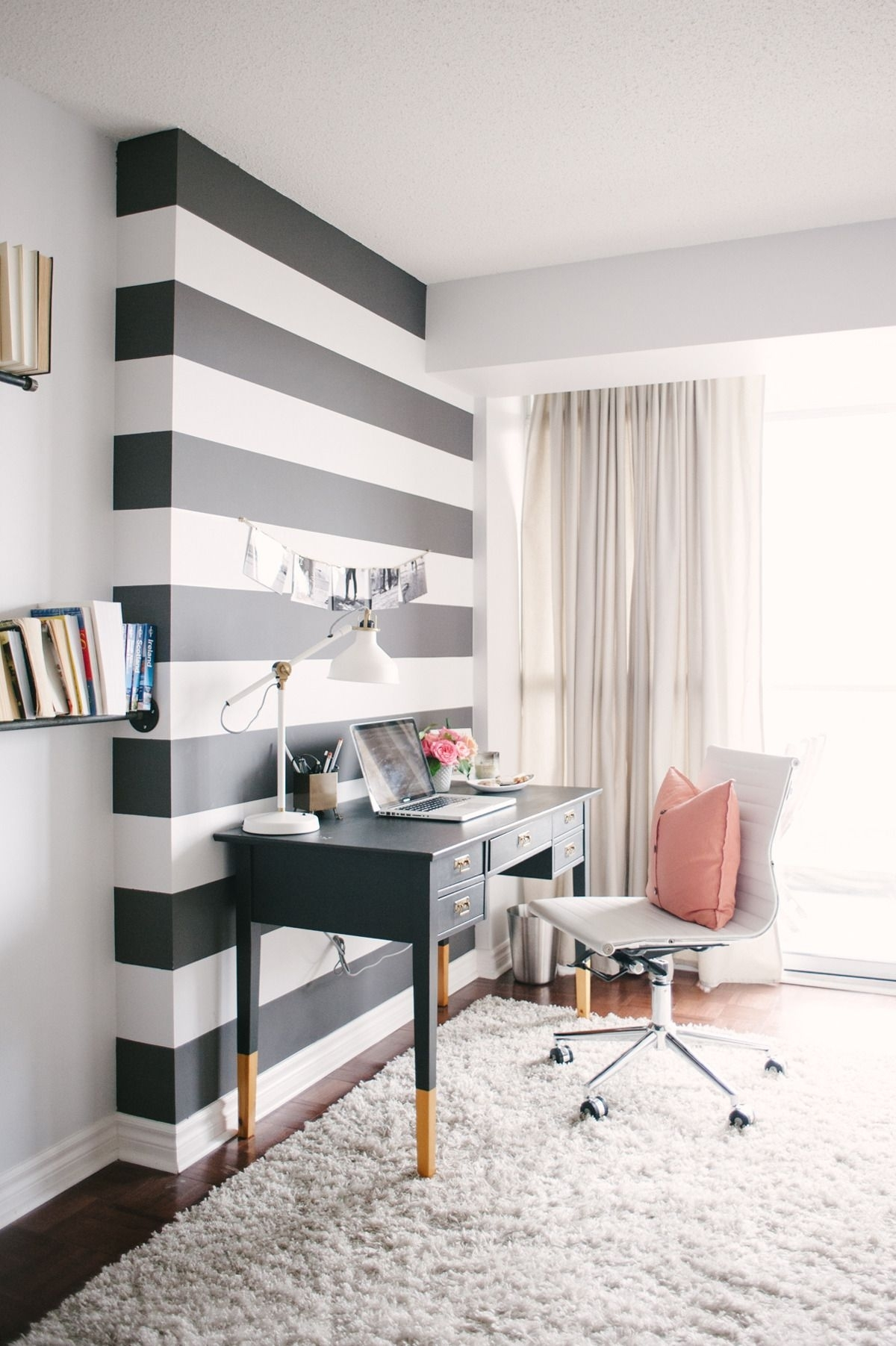 Social Hour | Striped Walls, Walls And Guy Throughout Best And Newest Stripe Wall Accents (View 12 of 15)