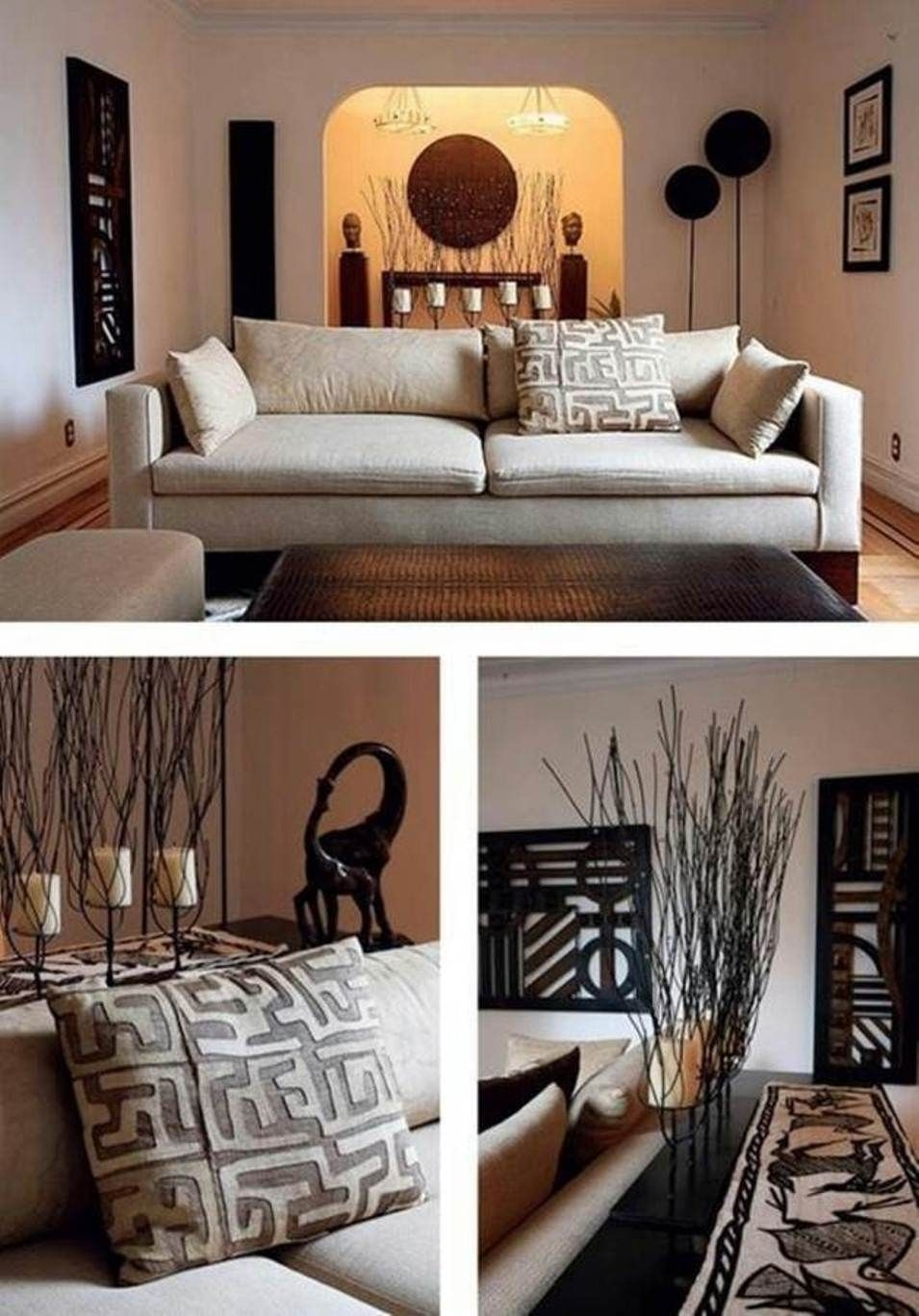 South African Decorating Ideas | Pinspired Interiors: Globally Regarding Most Up To Date African Wall Accents (View 11 of 15)