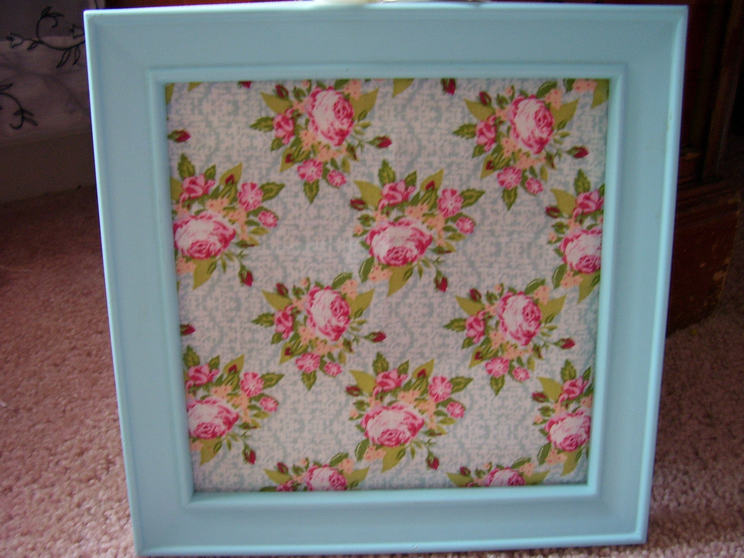 Spring & Easter Framed Fabric Wall Art – Quiver Full Of Blessings Inside Most Current Floral Fabric Wall Art (Gallery 2 of 15)