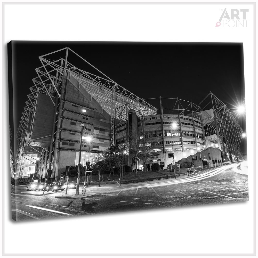 St. James Park Newcastle Canvas Print Framed Wall Art Football In Most Up To Date Newcastle Canvas Wall Art (Gallery 5 of 15)