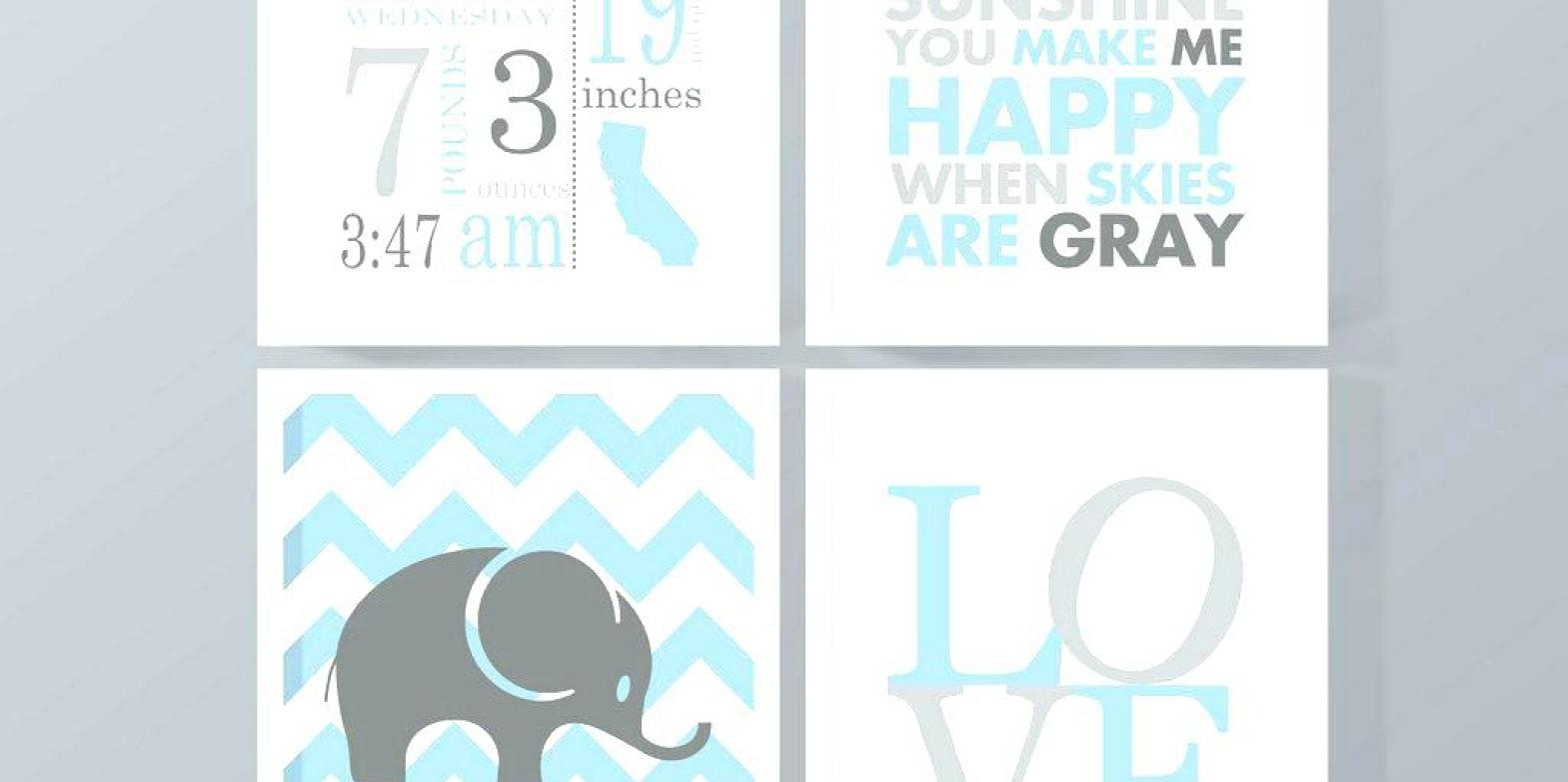 Sticker : Childrens Canvas Wall Art Personalized Nursery Canvas In Recent Custom Nursery Canvas Wall Art (View 9 of 15)