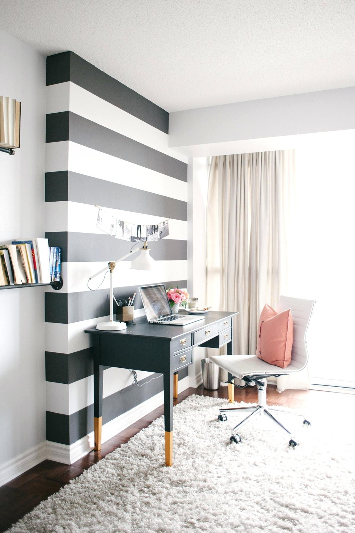 Striped Wall Decal Social Hour Striped Walls Walls And Wall Inside Most Up To Date Wall Accent Decals (View 11 of 15)
