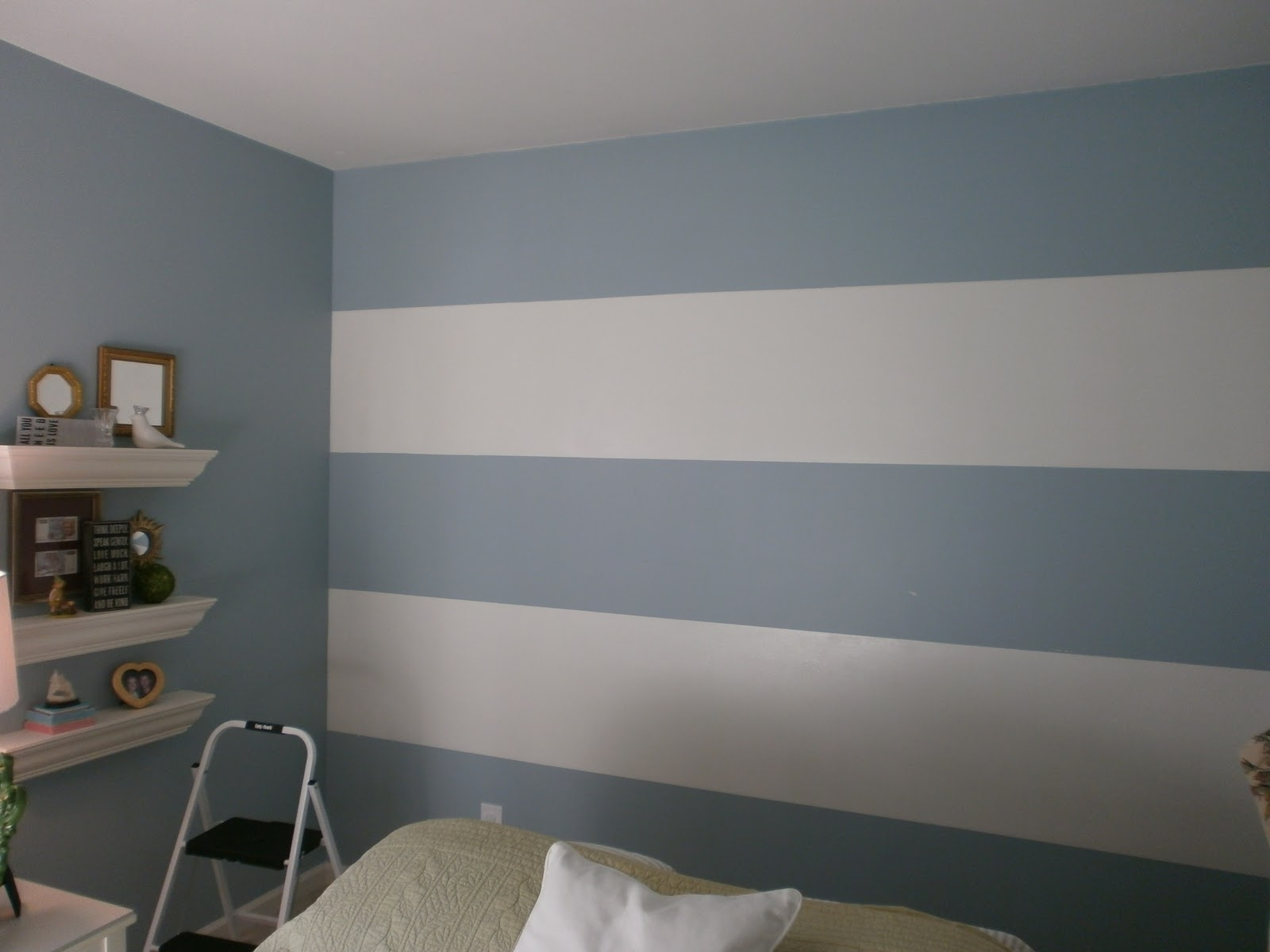 Stripes – Horizontal | Interiors | Pinterest | Room Ideas Regarding Most Recently Released Horizontal Stripes Wall Accents (Gallery 1 of 15)