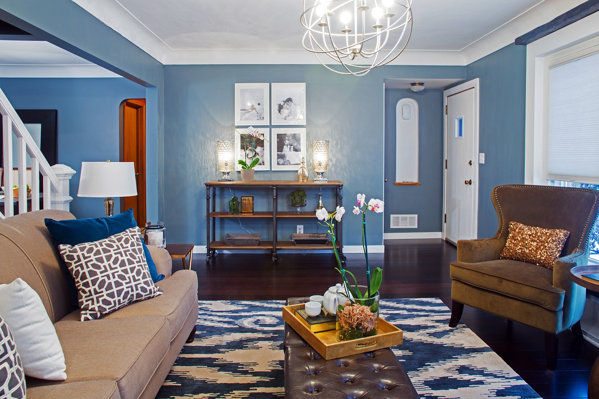 Stunning Living Target Accent Wall Desk Plus Accent Wall Colors With Regard To Newest Wall Accents For Blue Room (View 13 of 15)