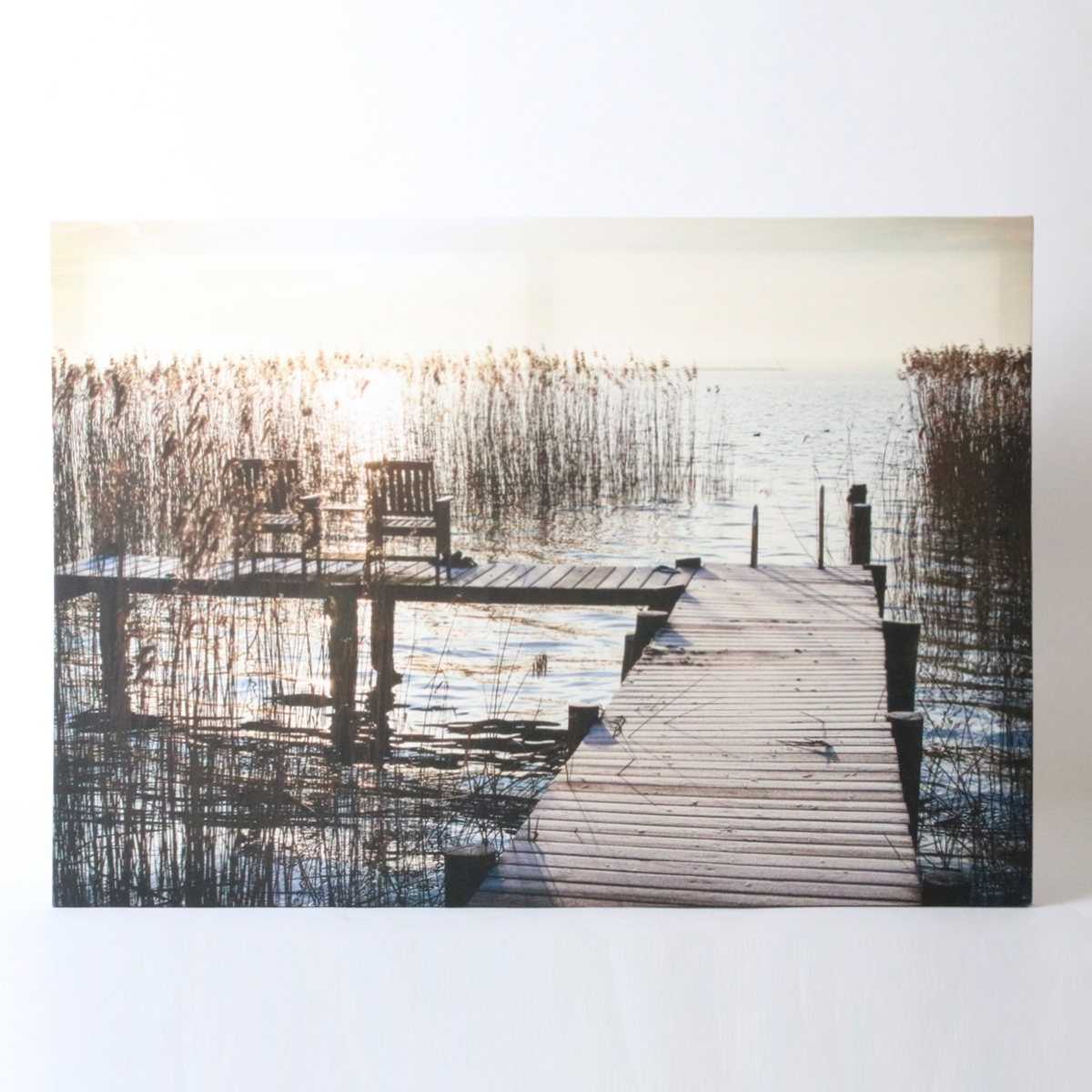 Sunset Jetty Canvas Wall Art | Harry Corry Limited Inside Newest Jetty Canvas Wall Art (Gallery 8 of 15)