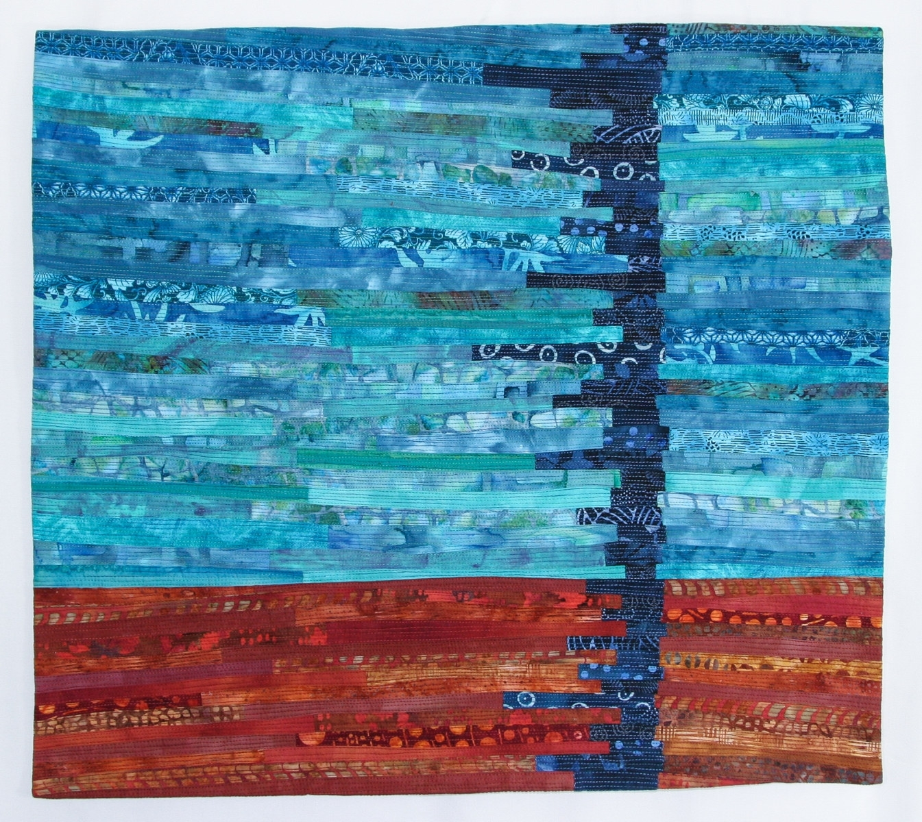 Tafa: The Textile And Fiber Art List | Mardell Rampton – Textile Intended For 2018 Abstract Textile Wall Art (View 13 of 15)