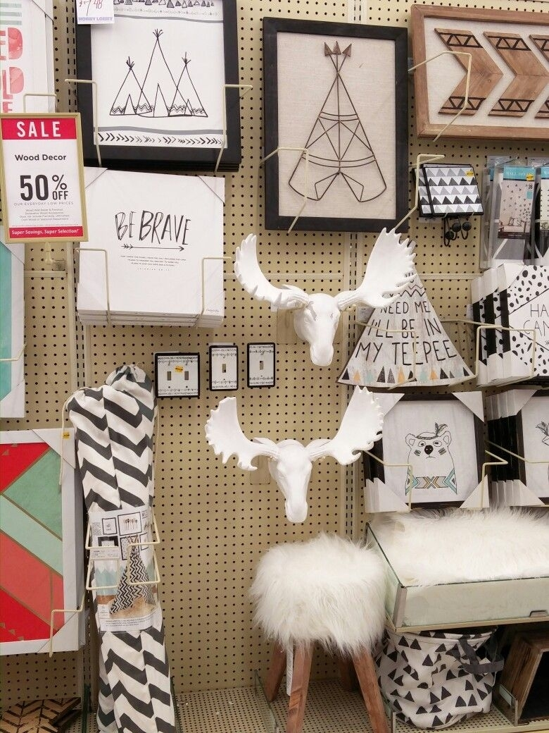 Teepee. Native American. Arrow. Mountains. Hobby Lobby (View 10 of 15)
