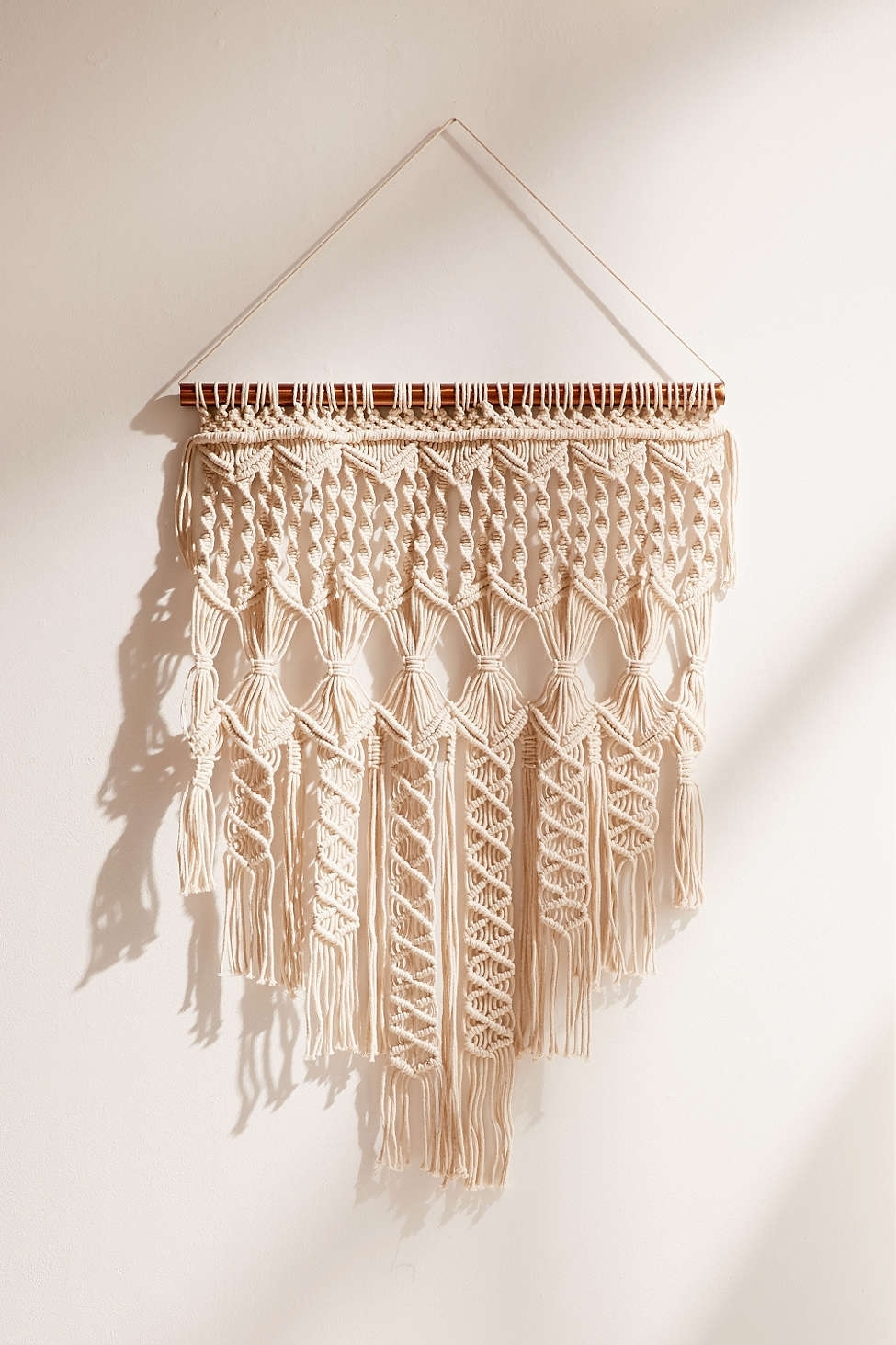 Textured Wall Hangings Are Weaving Their Way Into Nurseries Throughout Most Current Fabric Wall Art Urban Outfitters (View 10 of 15)