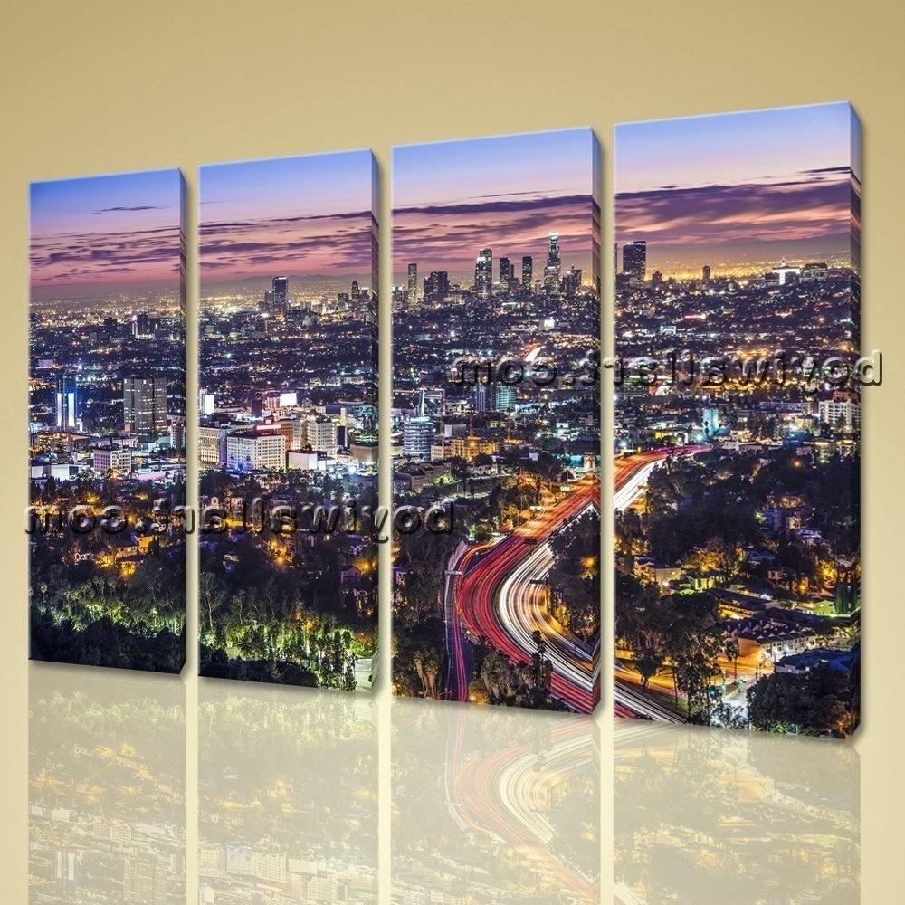 The Best Los Angeles Wall Art Regarding Most Recently Released Los Angeles Canvas Wall Art (Gallery 15 of 15)