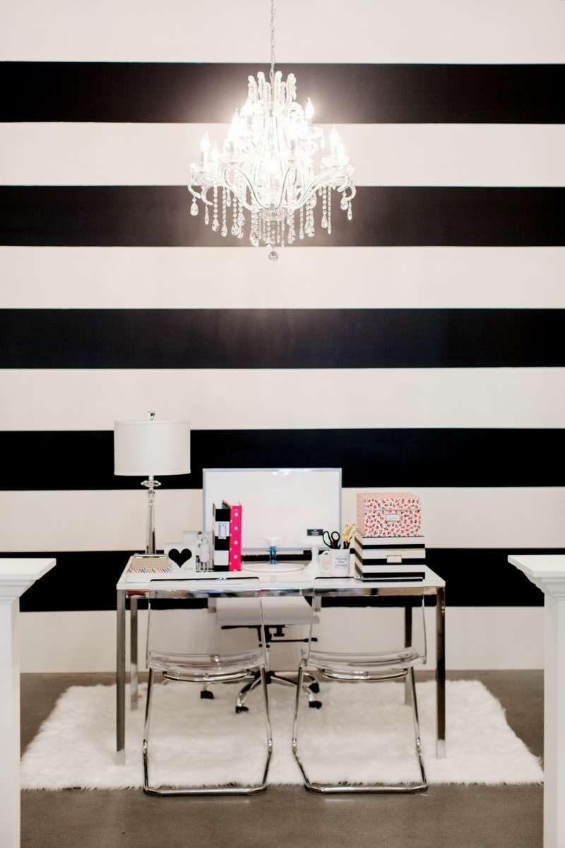 The Black And White Striped Wall | The Reveal | The Tomkat Within 2018 Horizontal Stripes Wall Accents (View 10 of 15)