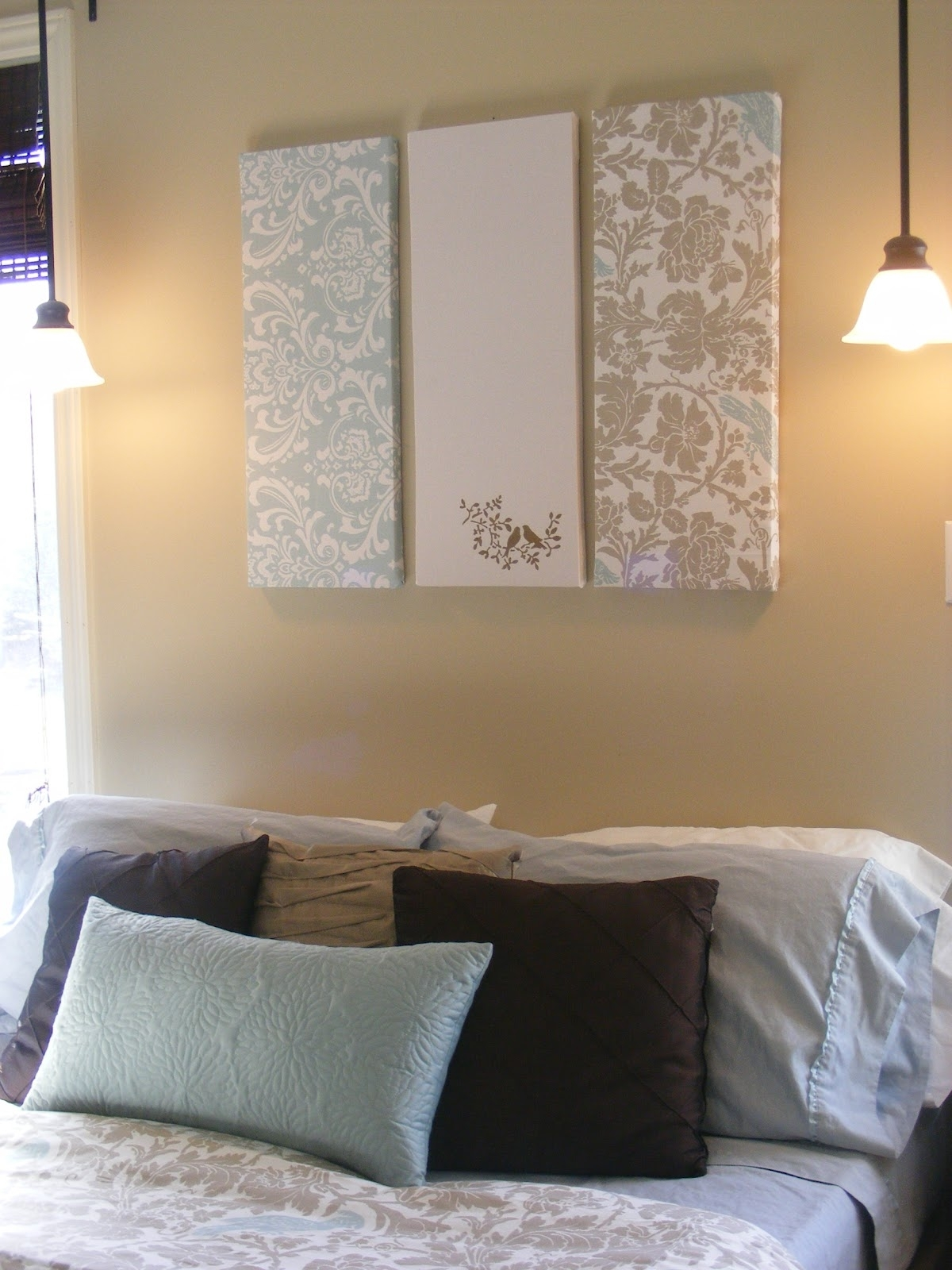 The Complete Guide To Imperfect Homemaking: Simple, Thrifty Diy Art In Most Recently Released Fabric Covered Foam Wall Art (View 2 of 15)