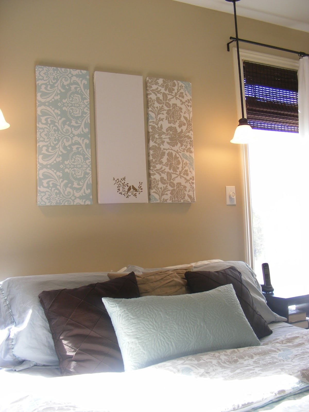 The Complete Guide To Imperfect Homemaking: Simple, Thrifty Diy Art Pertaining To Most Current Fabric Wrapped Styrofoam Wall Art (View 13 of 15)