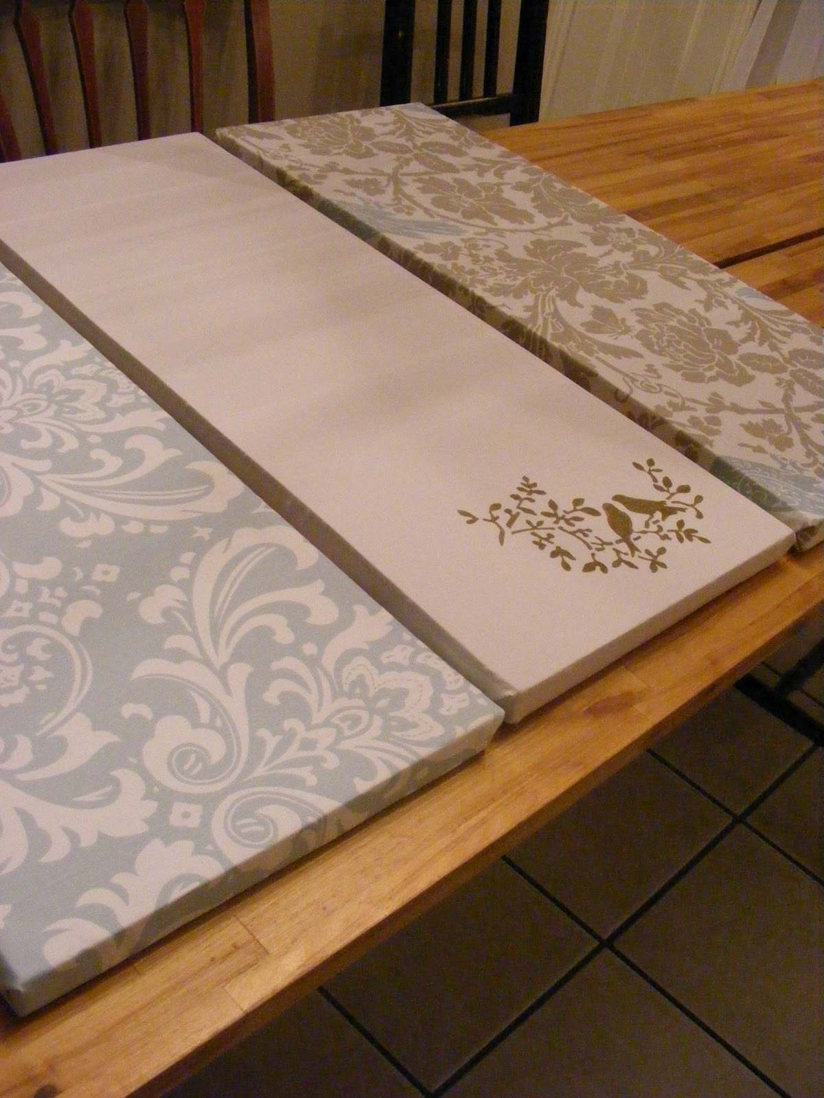 The Complete Guide To Imperfect Homemaking: Simple, Thrifty Diy Art With Regard To 2017 Fabric Covered Foam Wall Art (View 13 of 15)