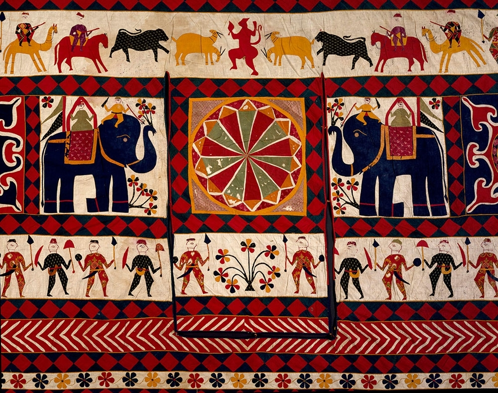 The Fabric Of India At The V&a – Hali Within Most Popular Indian Fabric Art Wall Hangings (Gallery 3 of 15)