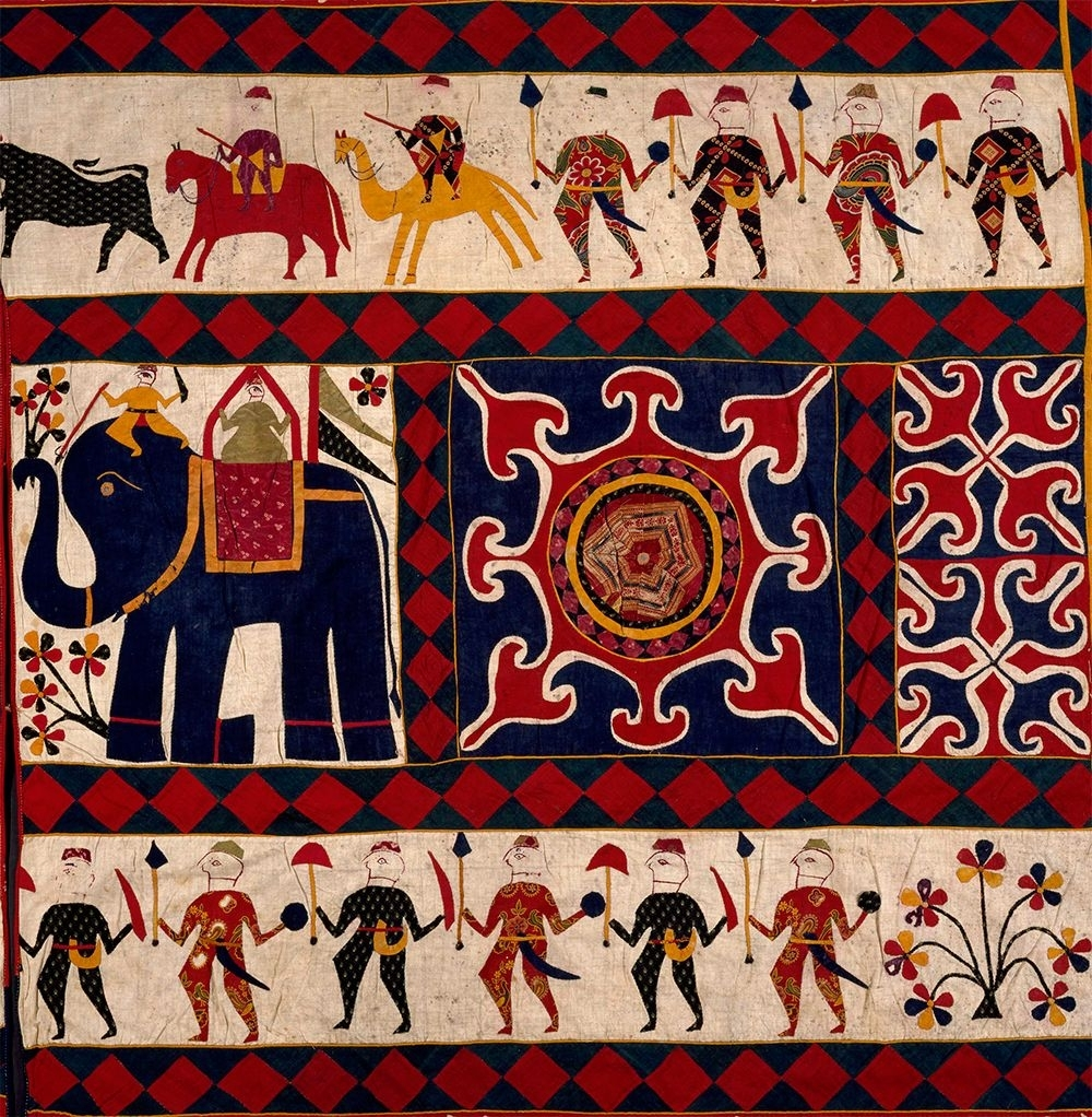 The Fabric Of India Exhibition At The Victoria And Albert Museum Within Best And Newest Indian Fabric Wall Art (View 14 of 15)