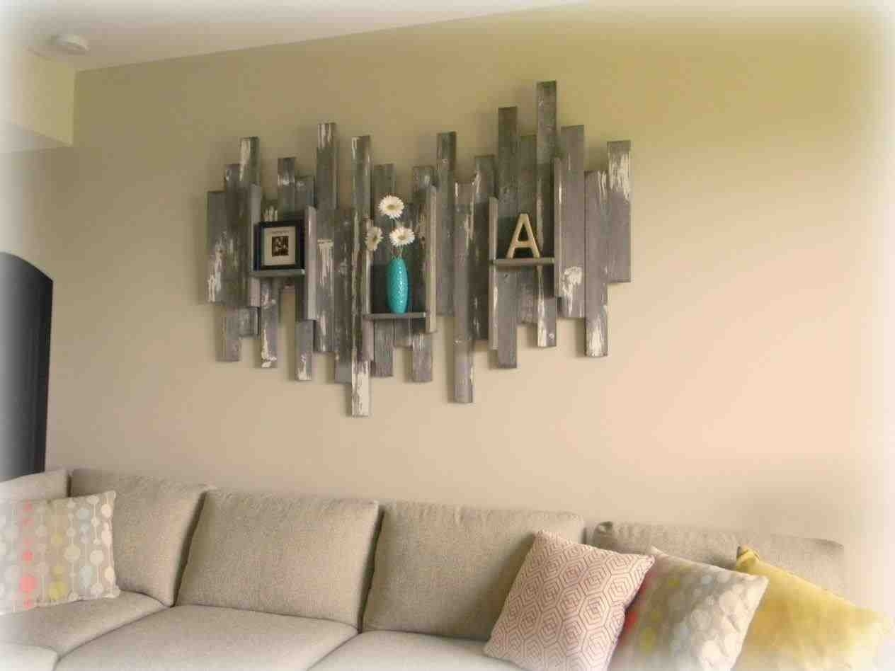 The Images Collection Of Reclaimed Decor Shelves Ideas Rustic Regarding Latest Rustic Wall Accents (View 12 of 15)