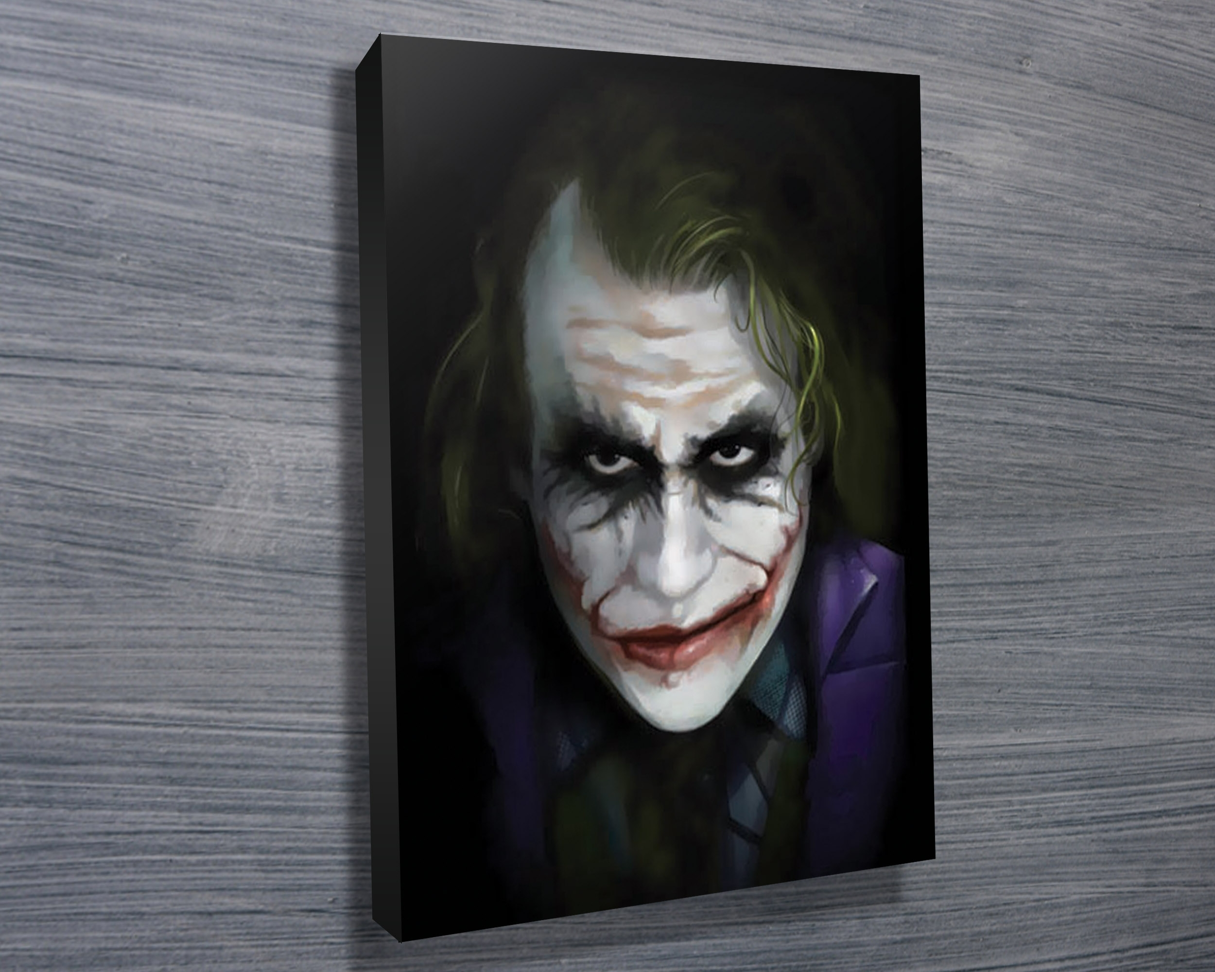 The Joker – Canvas Prints Australia For Newest Joker Canvas Wall Art (View 2 of 15)