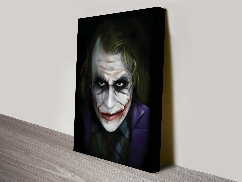 The Joker Canvas Wall Art Printing Online Gallery Australia Regarding Current Joker Canvas Wall Art (View 13 of 15)