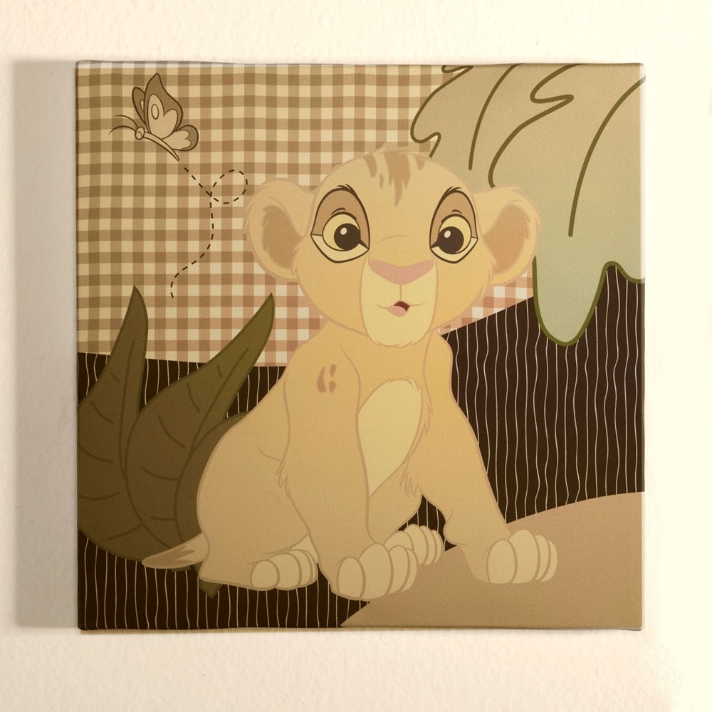 The Lion King Wall Art | Disney Baby Inside Most Current Lion King Canvas Wall Art (View 1 of 15)