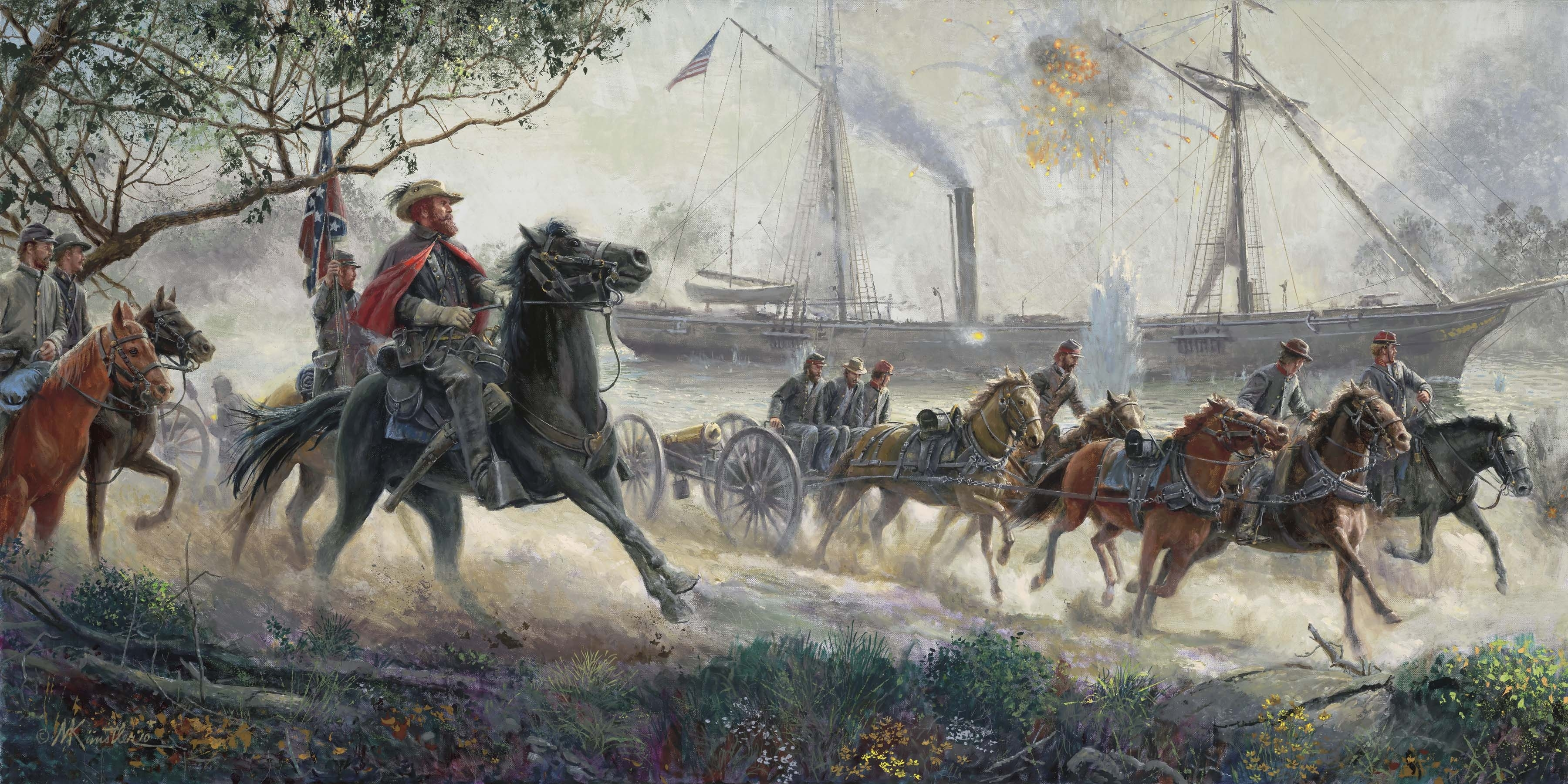 The Official Mort Künstler Website Pertaining To Best And Newest Confederate Framed Art Prints (View 14 of 15)