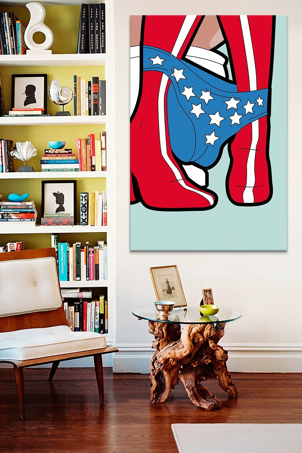 The Secret Life Of Superheroes Wonder Peegreg Guillemin Canvas Throughout Newest Quirky Canvas Wall Art (View 2 of 15)