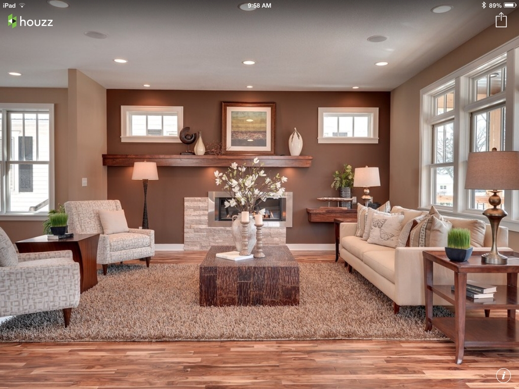 The Wall Colors. And How There Are Two Colors For The One Room–An For 2018 Neutral Color Wall Accents (Gallery 11 of 15)