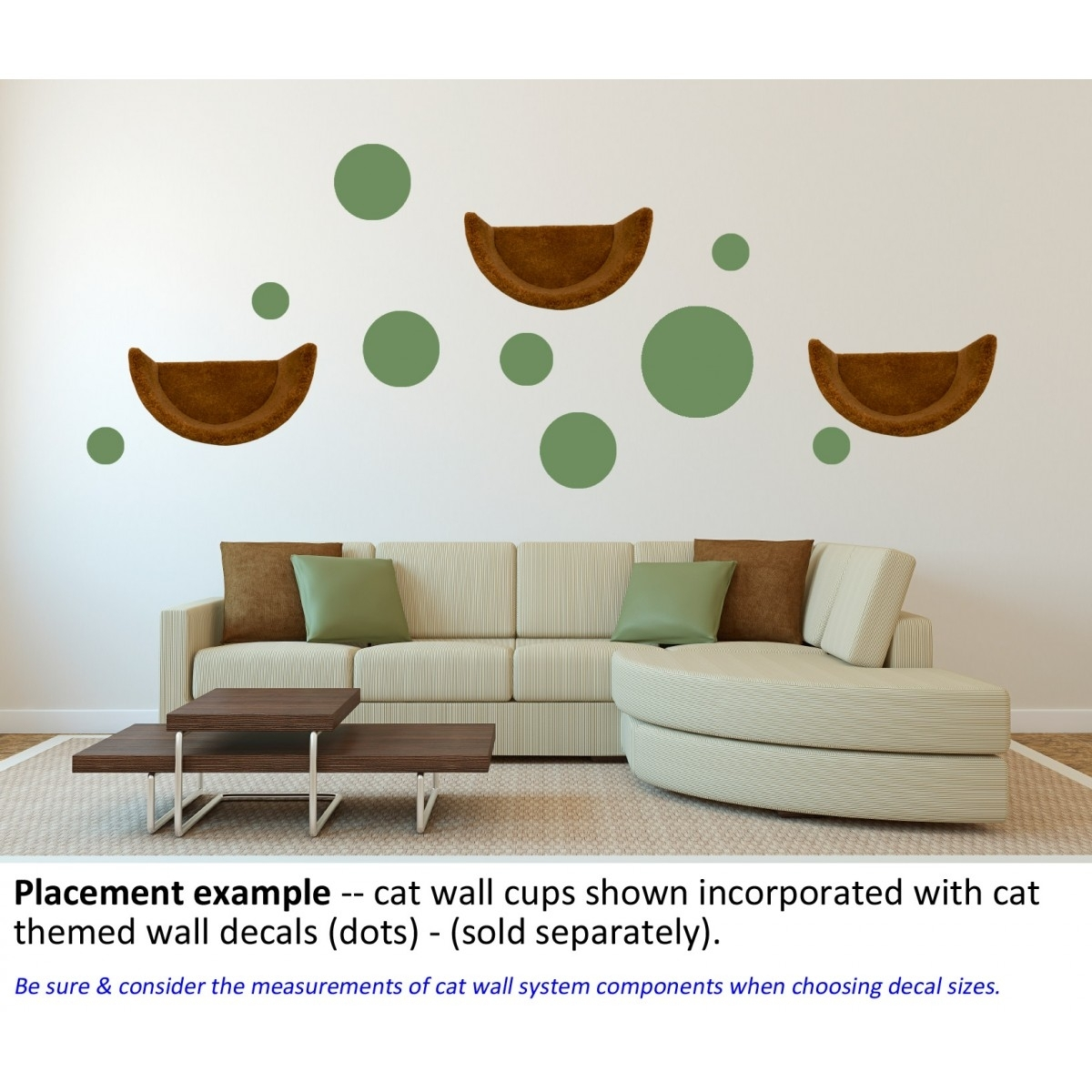 Themed Wall Accent Decal – Dots & Circles Within Most Up To Date Wall Accent Decals (View 13 of 15)