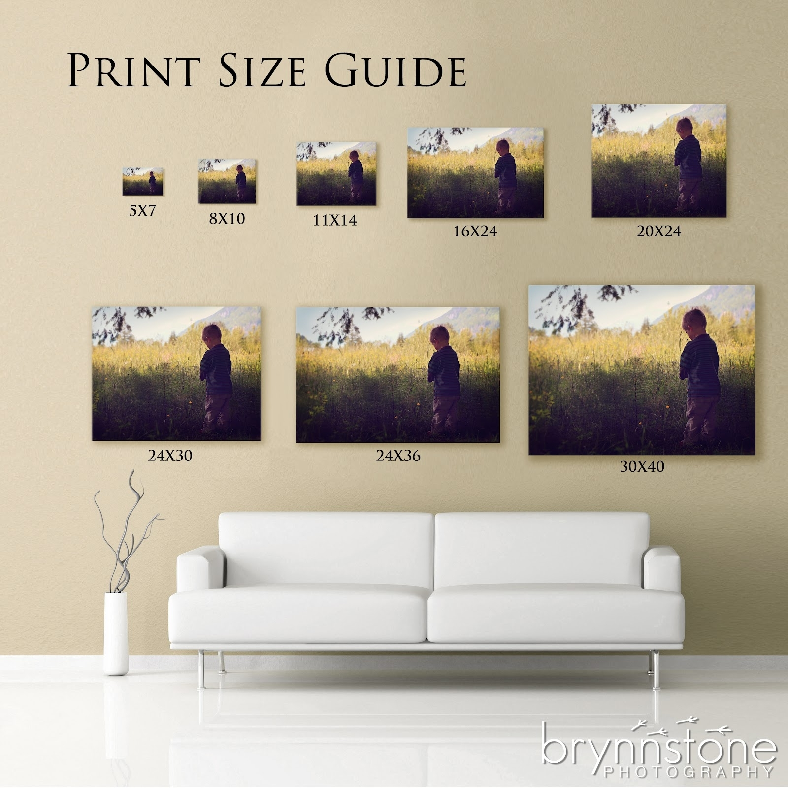 Think An 8X10 Is A Big Enough Print? They're Not As Big As You Intended For Most Recent Big W Canvas Wall Art (View 9 of 15)