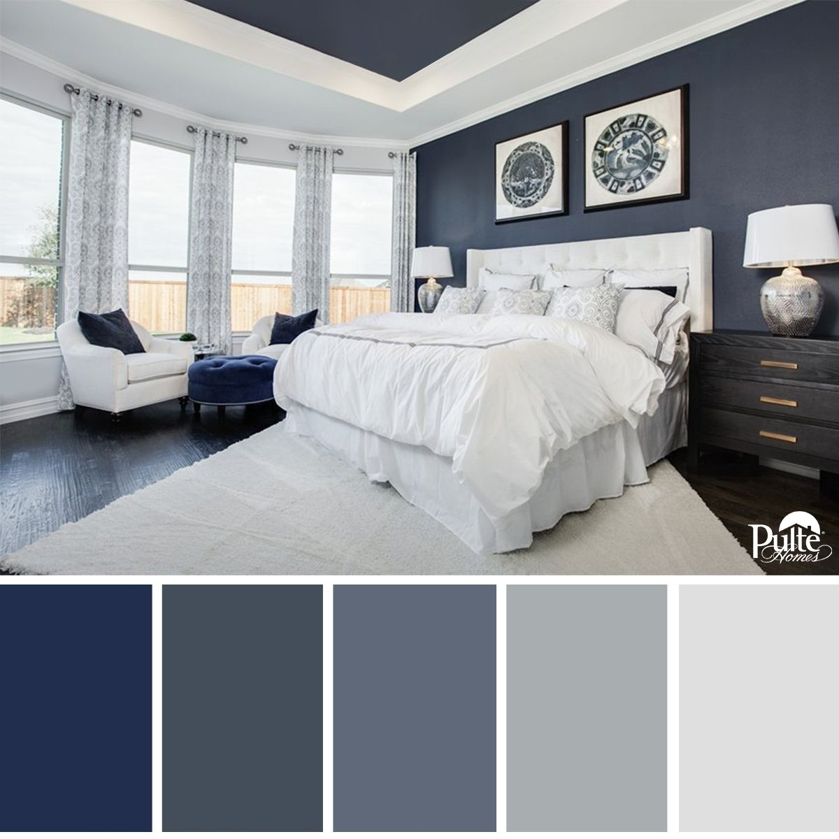 This Bedroom Design Has The Right Idea (View 15 of 15)