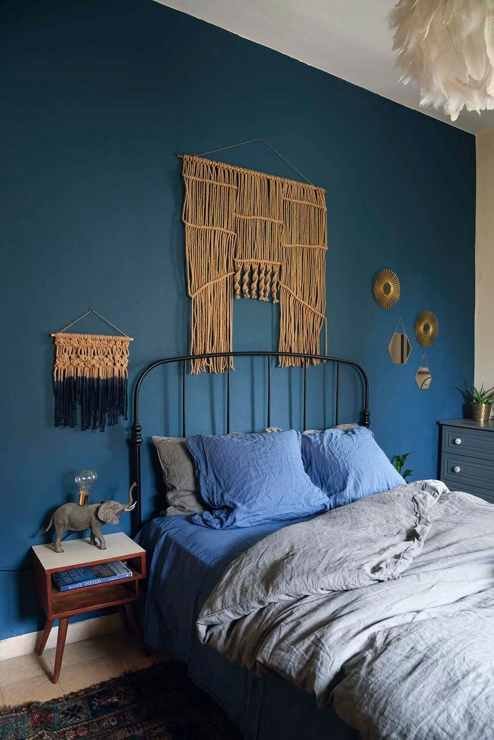 This Is How To Decorate With Blue Walls | Nonagon (View 15 of 15)