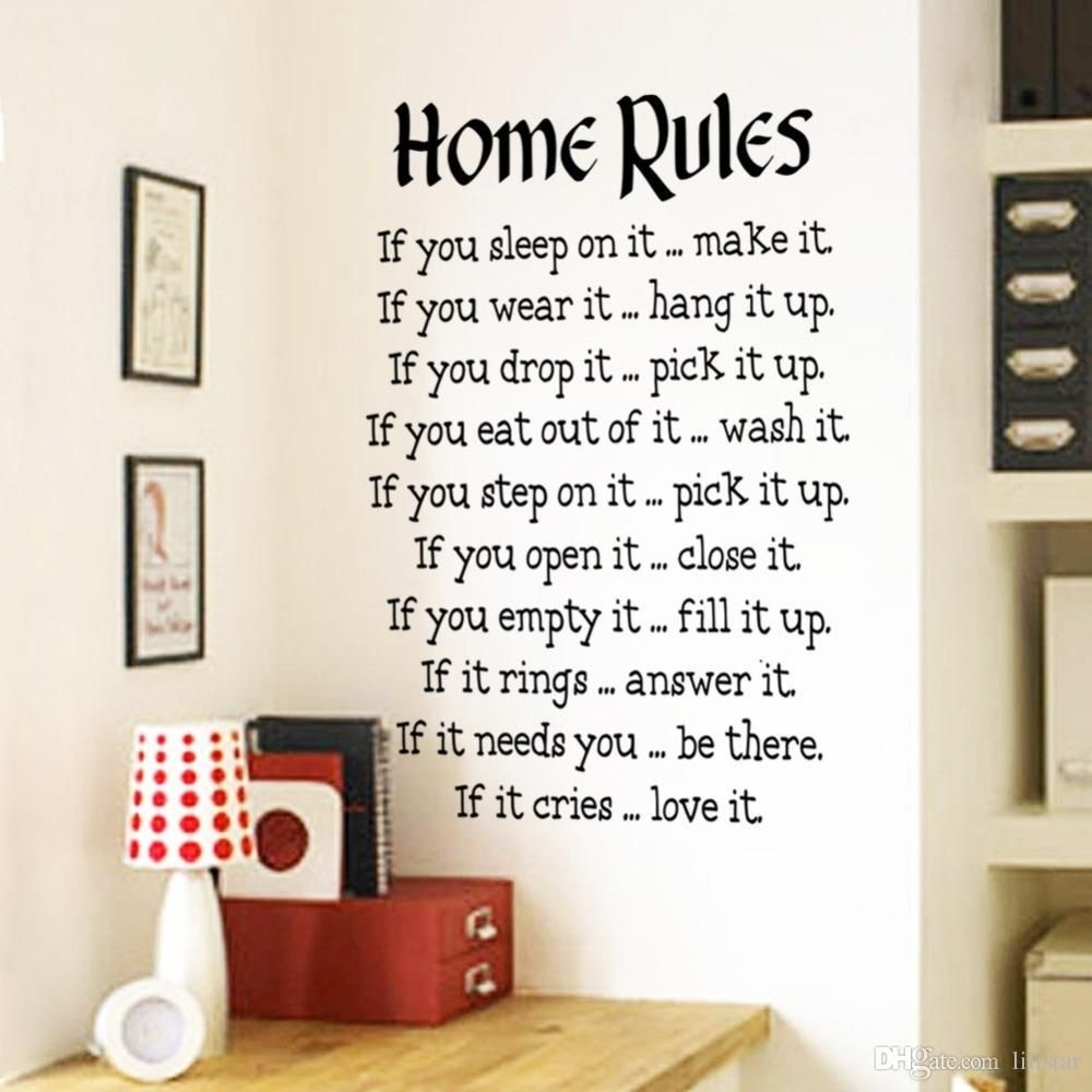 Tips For Decorating Wall Decal Quotes — Wall Decals Ideas Pertaining To Most Recently Released Removable Wall Accents (View 10 of 15)