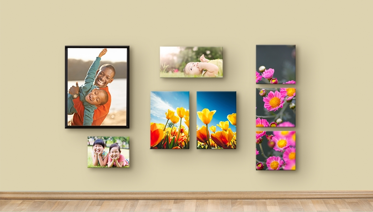 Tips & How To's, Ideas And Inspiration | Costco Photo Center Pertaining To Most Up To Date Groupings Canvas Wall Art (View 12 of 15)