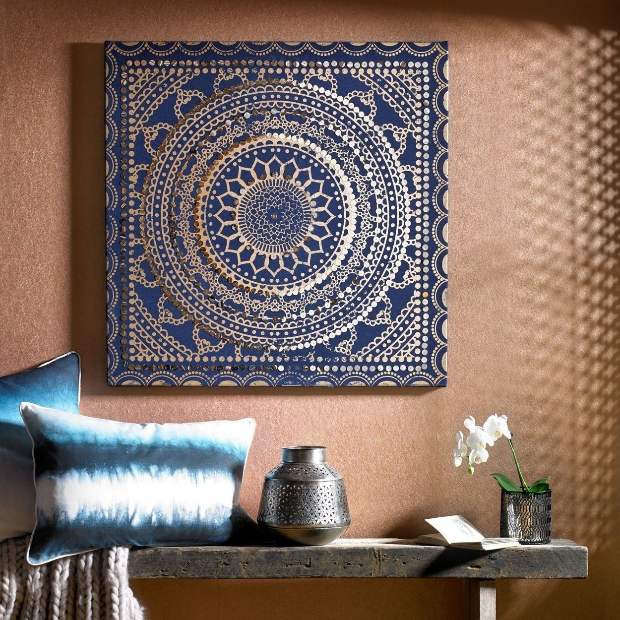 Top 15 Of House Of Fraser Canvas Wall Art Intended For Most Popular Moroccan Fabric Wall Art (View 7 of 15)