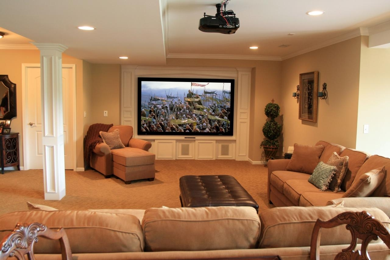 Top Six Basement Spaces | Hgtv Regarding Most Popular Basement Wall Accents (View 15 of 15)