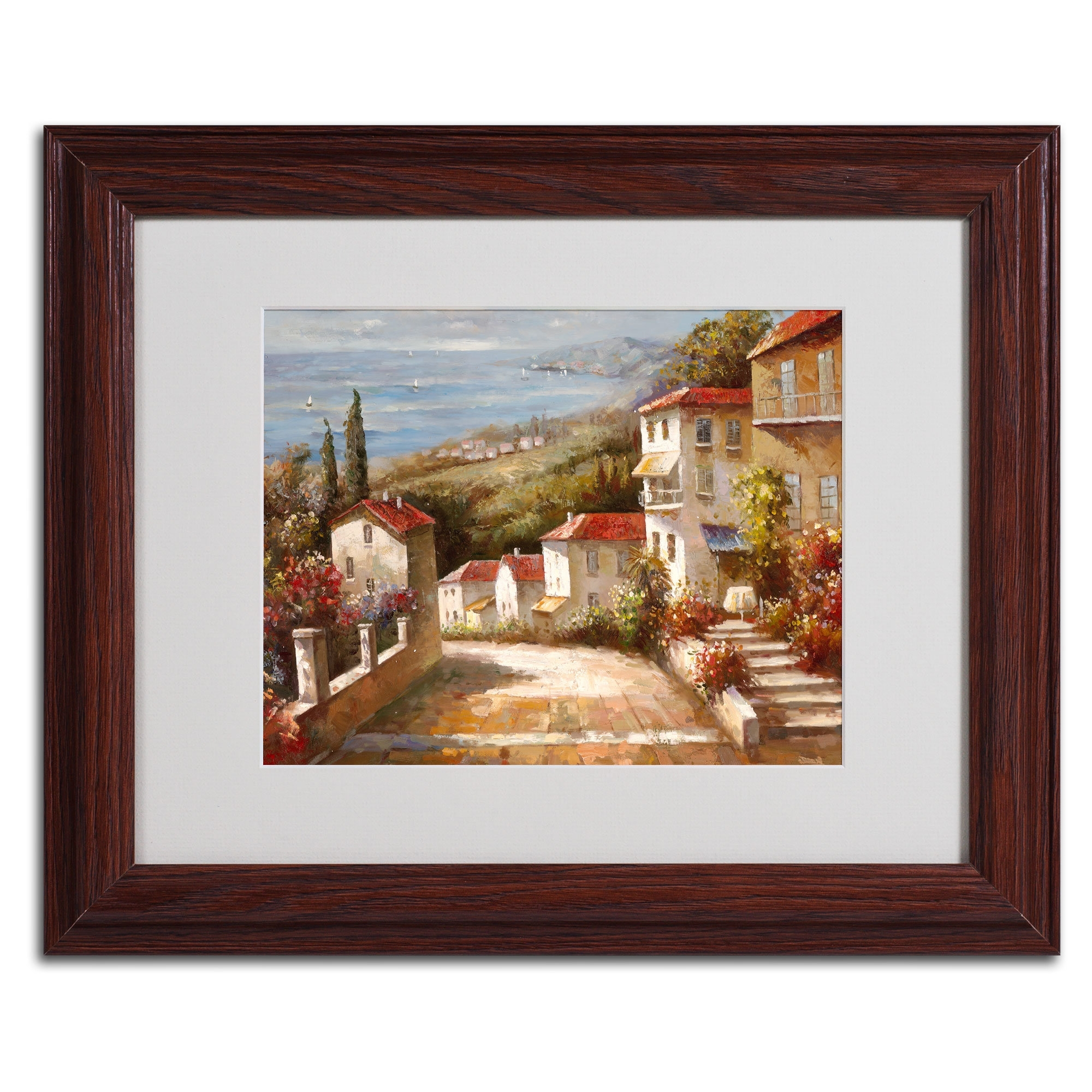 Trademark Art 'home In Tuscany'joval Framed Painting Print With Regard To Recent Joval Canvas Wall Art (View 3 of 15)